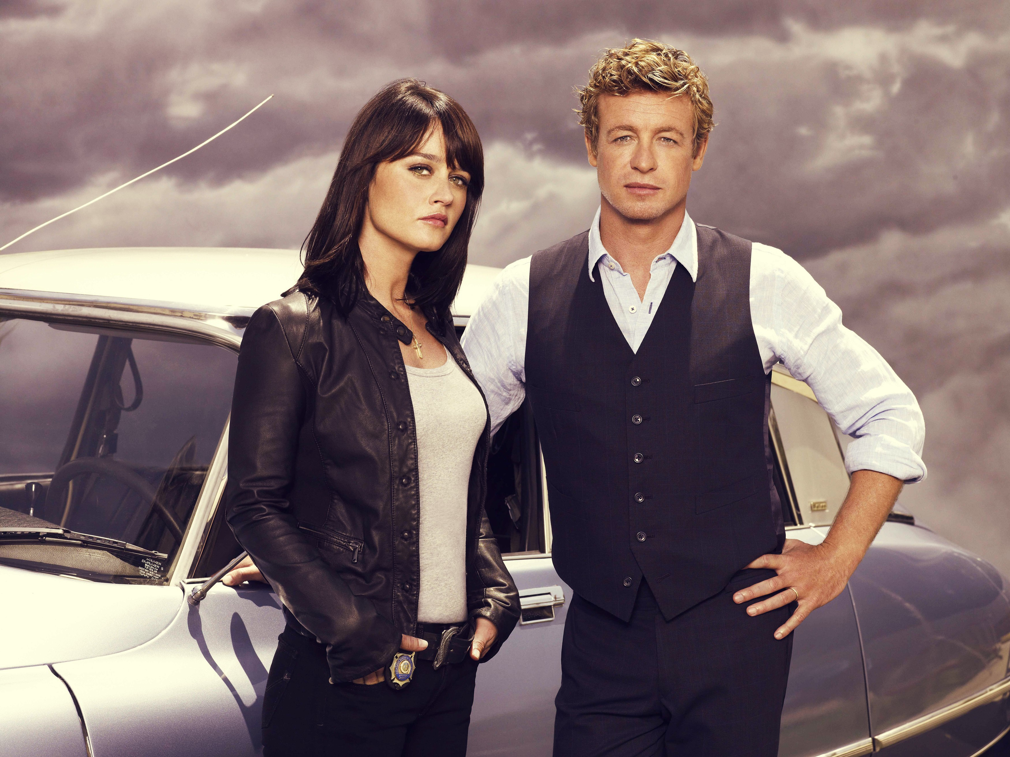simon baker The Mentalist HD Wallpaper