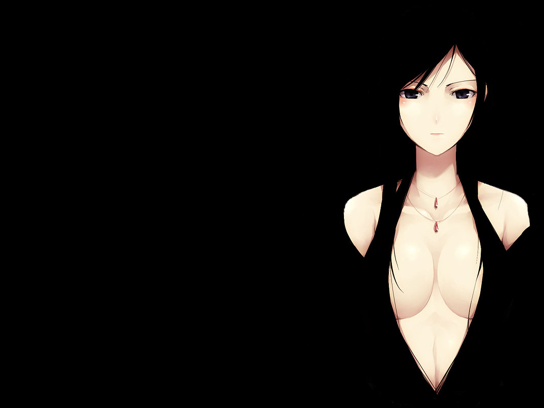 Simple Background anime girls HD Wallpaper