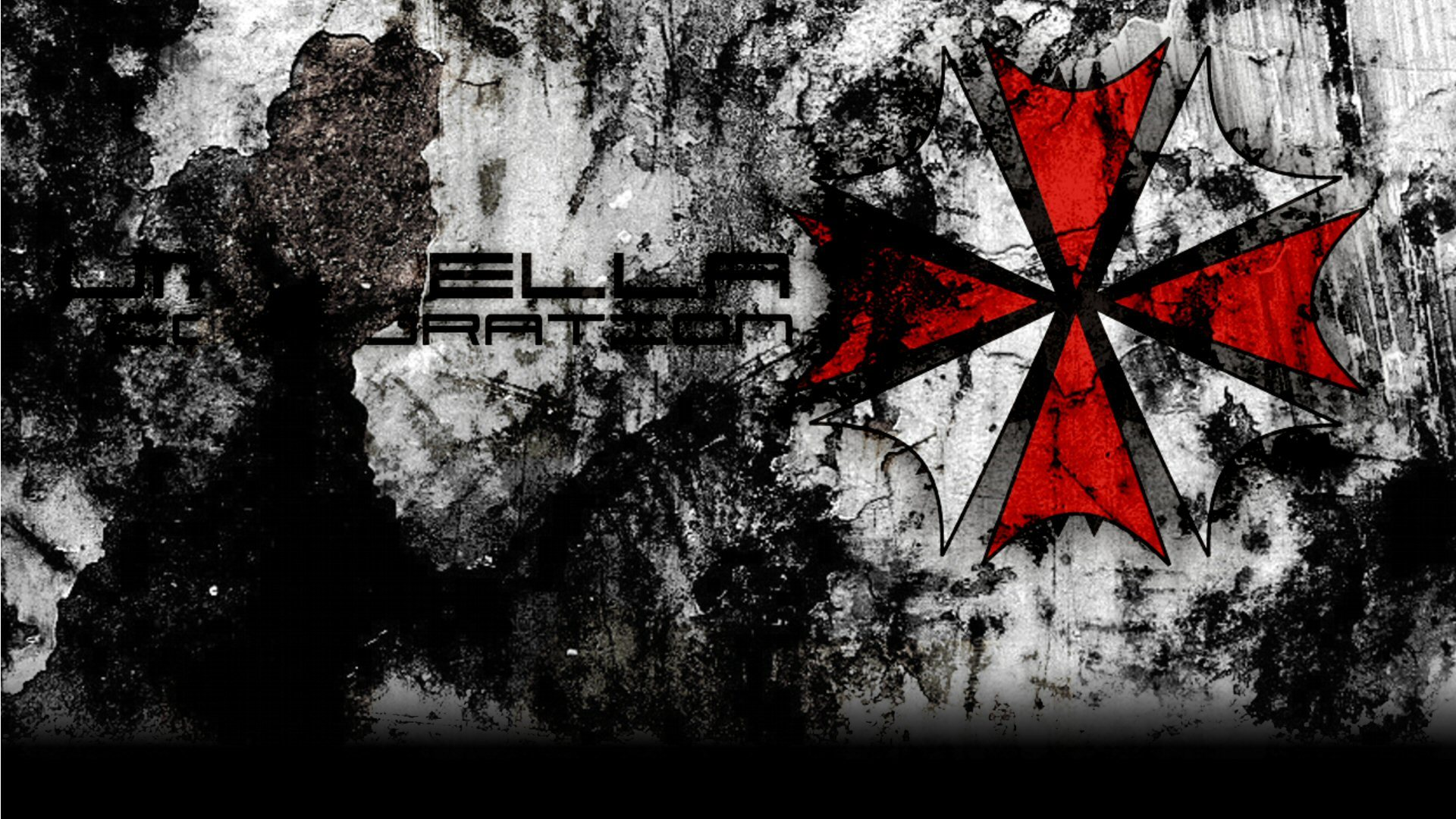 Simple Background Umbrella Corp. HD Wallpaper