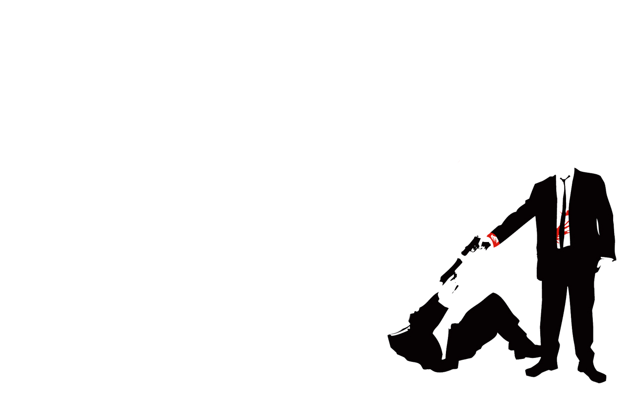 simplistic Guns Reservoir Dogs HD Wallpaper