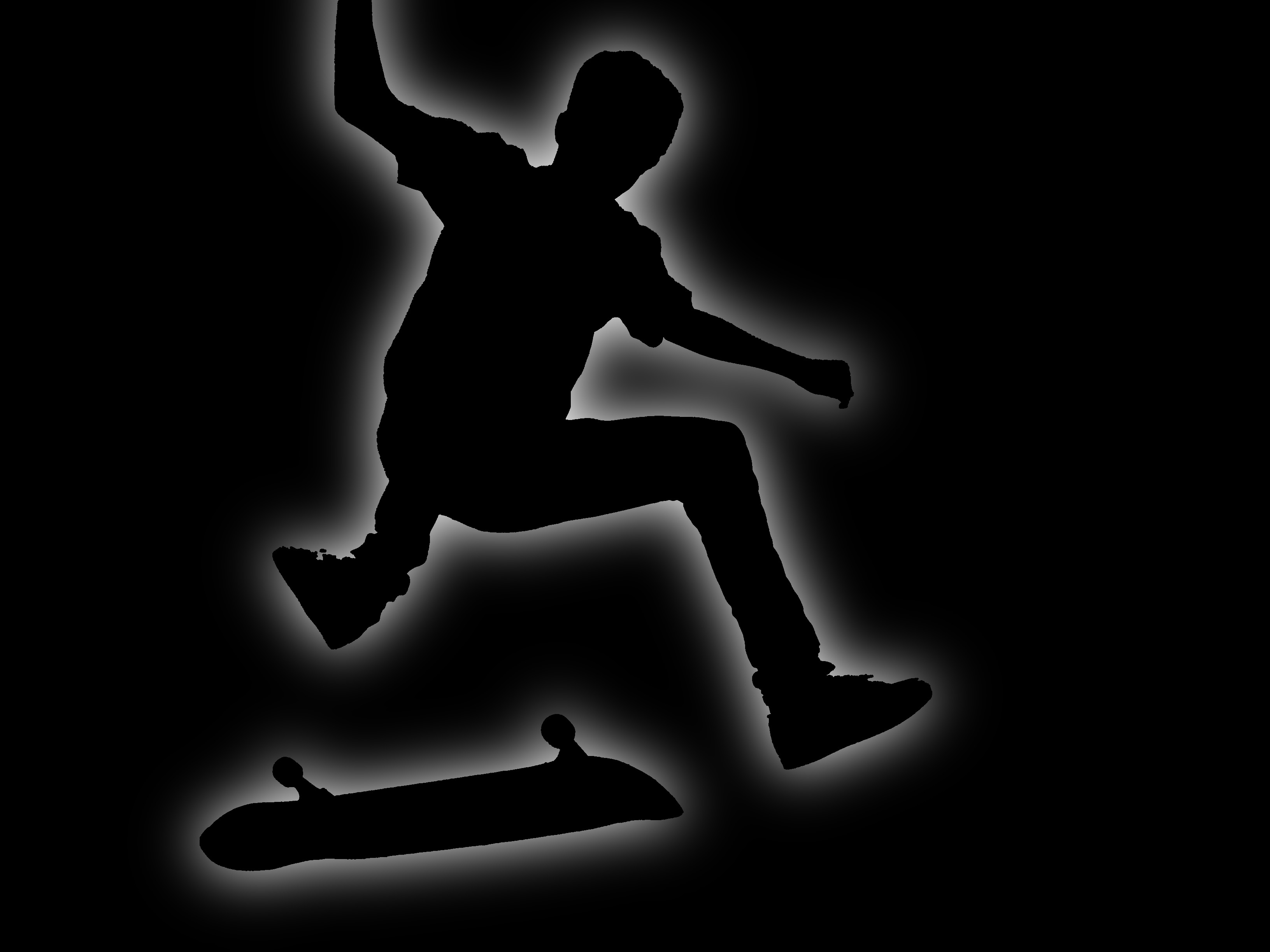 Skateboarding skate abstract HD Wallpaper