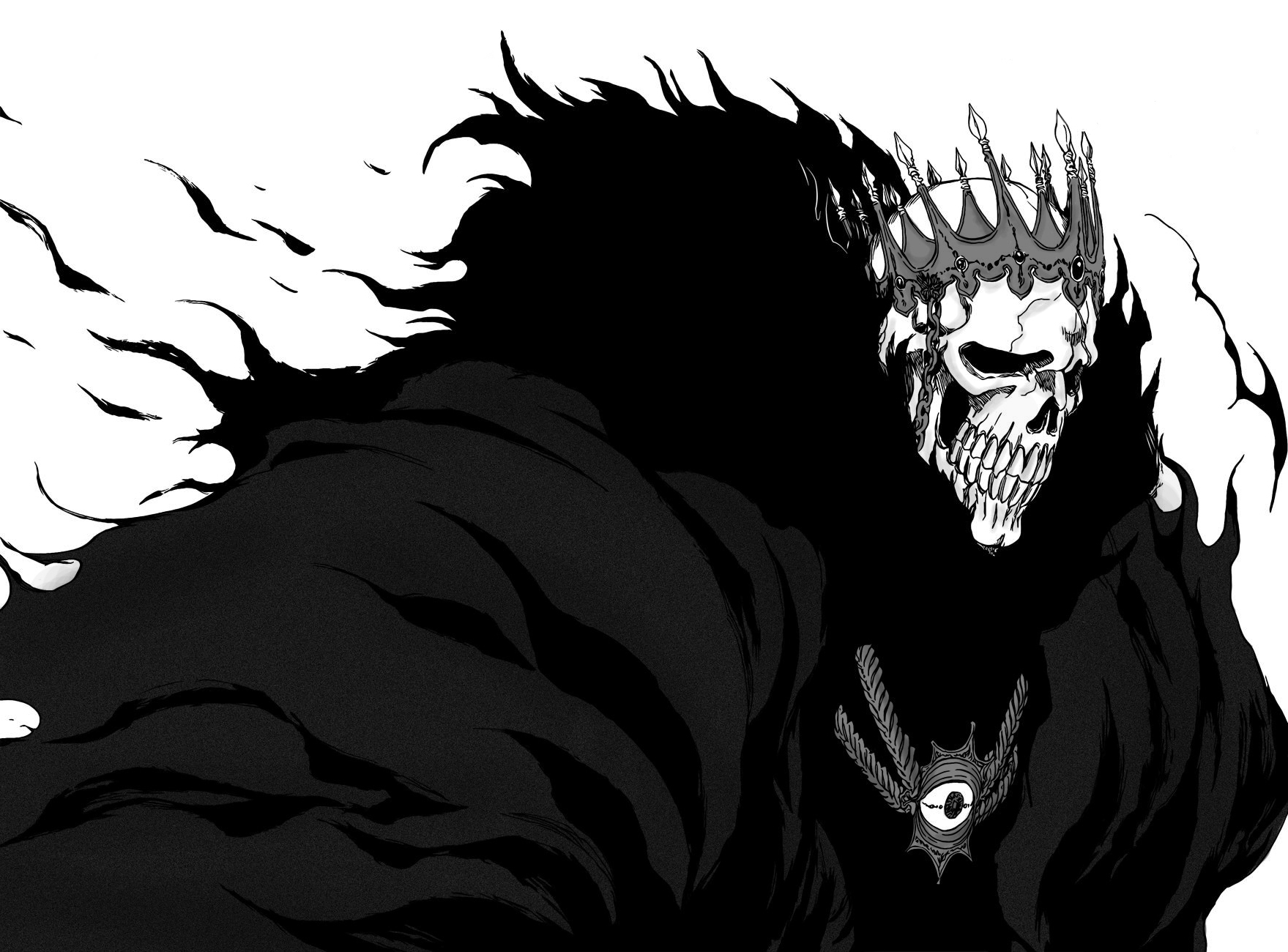 skulls bleach Espada Baraggan HD Wallpaper