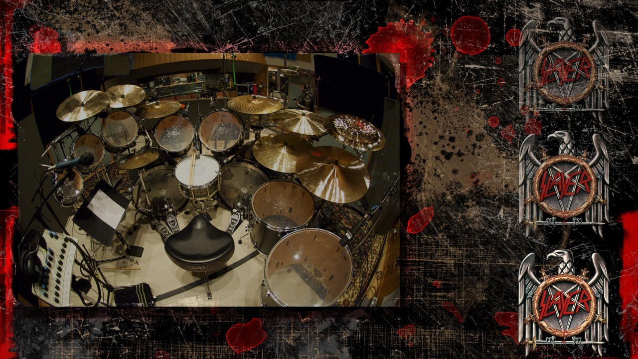 slayer Zen Drums music HD Wallpaper