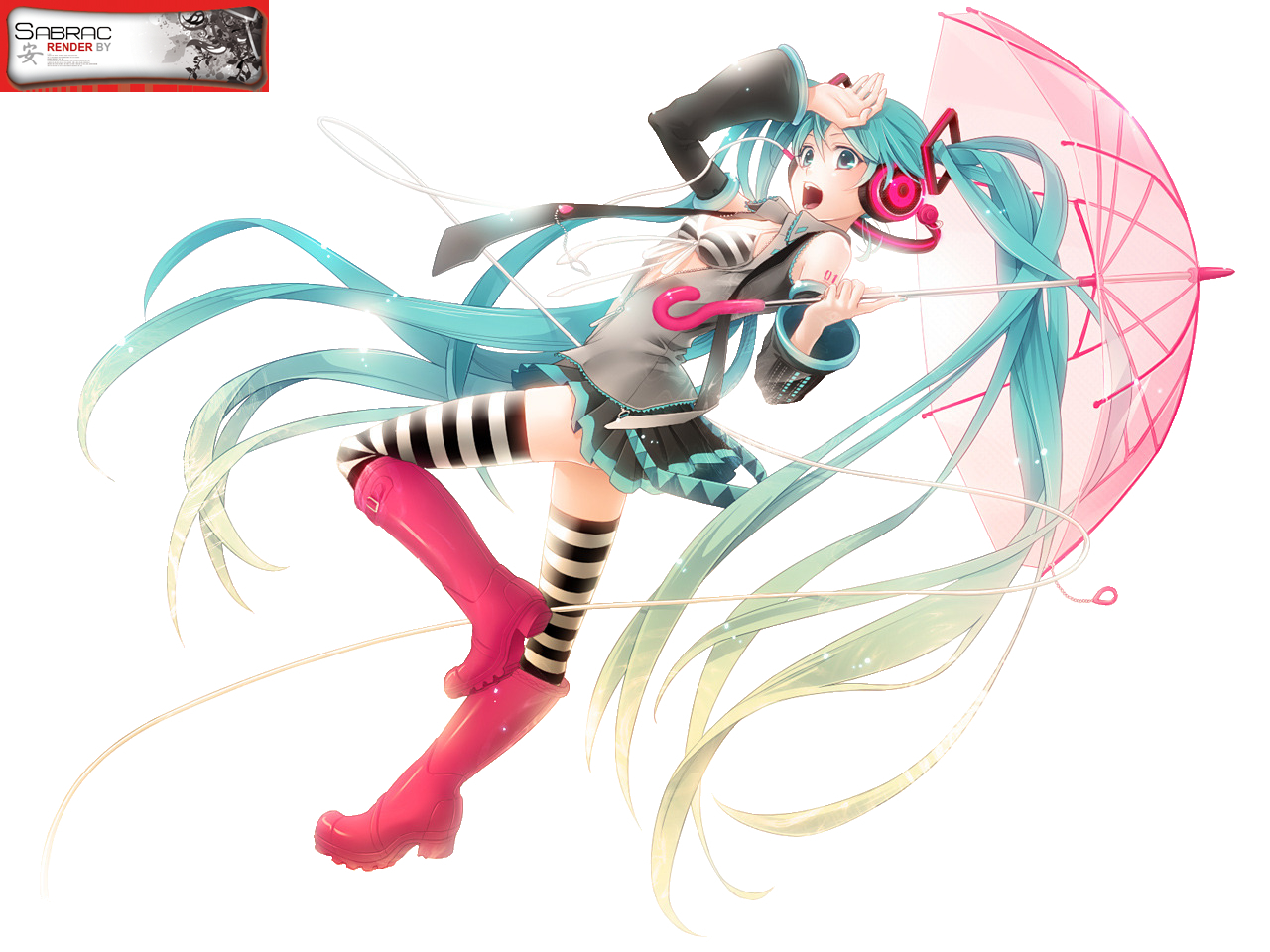 sleeves Anime vocaloid hatsune HD Wallpaper