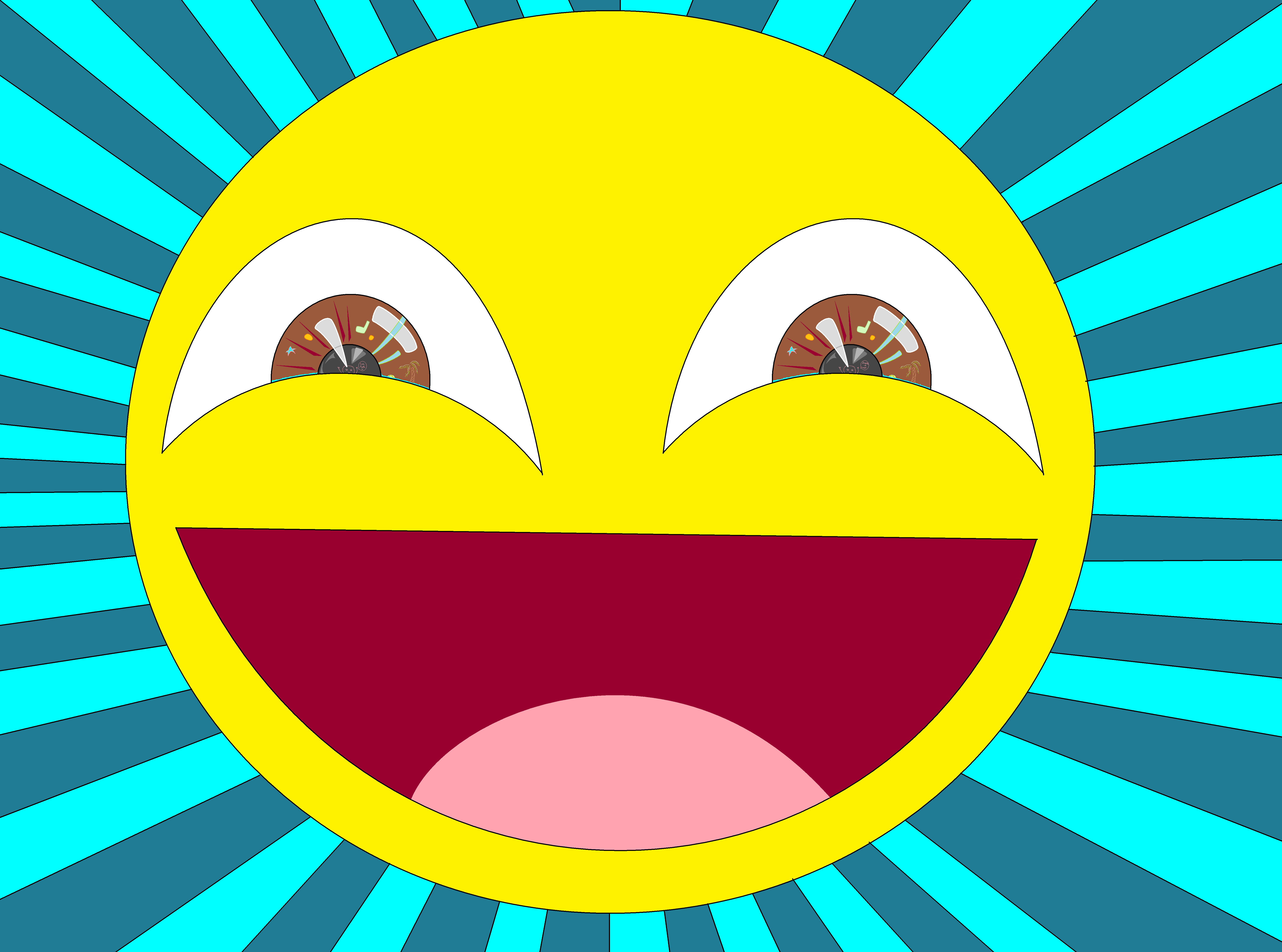 smiley face HD Wallpaper