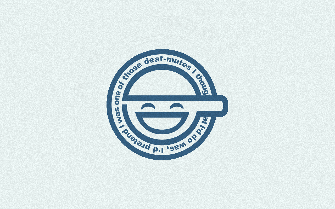 smiley laughing man ghost HD Wallpaper