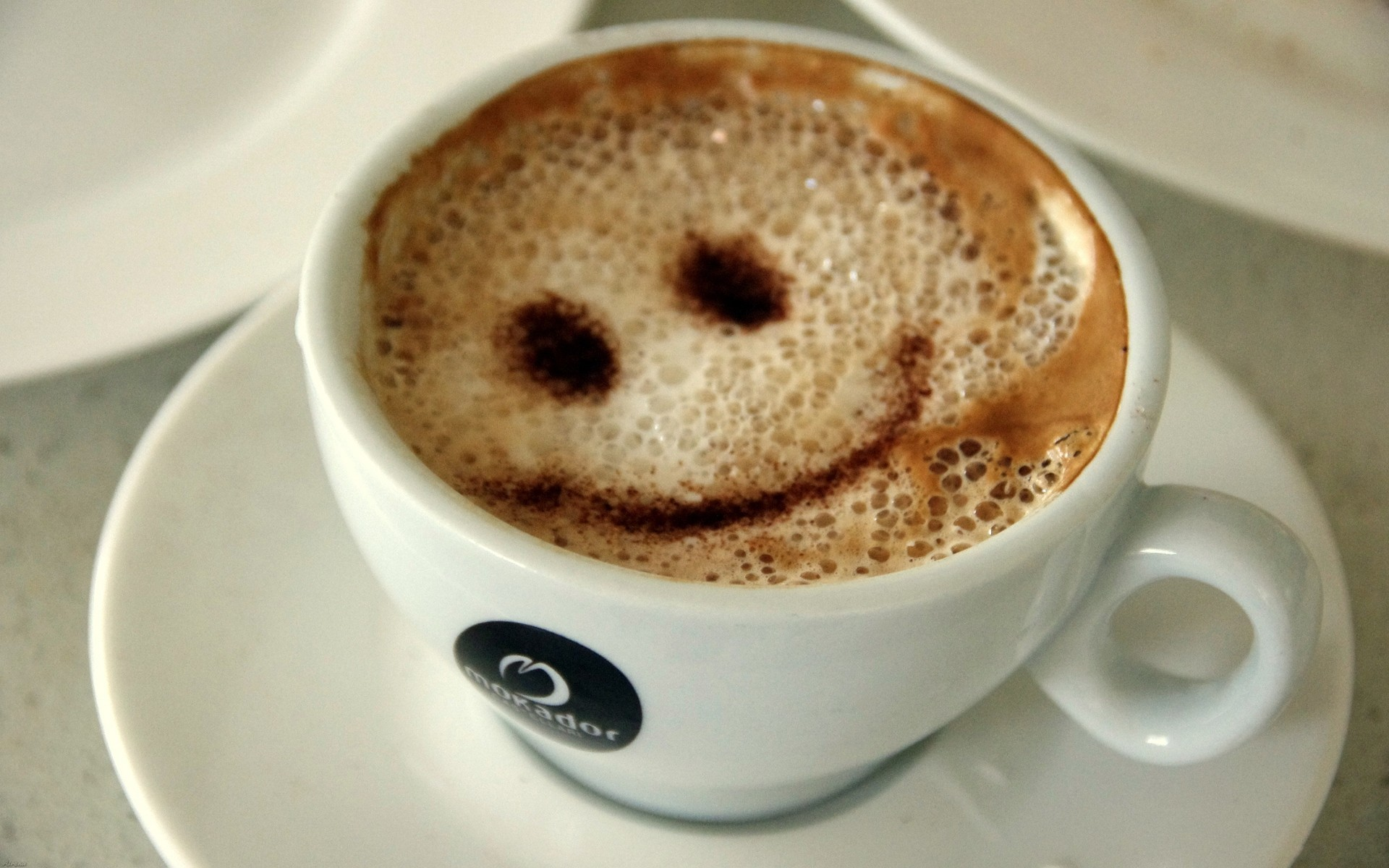 smiley smiley face coffee HD Wallpaper