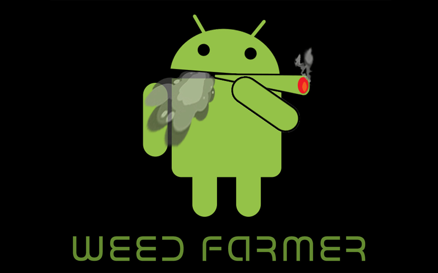 smoking black drugs Droid HD Wallpaper