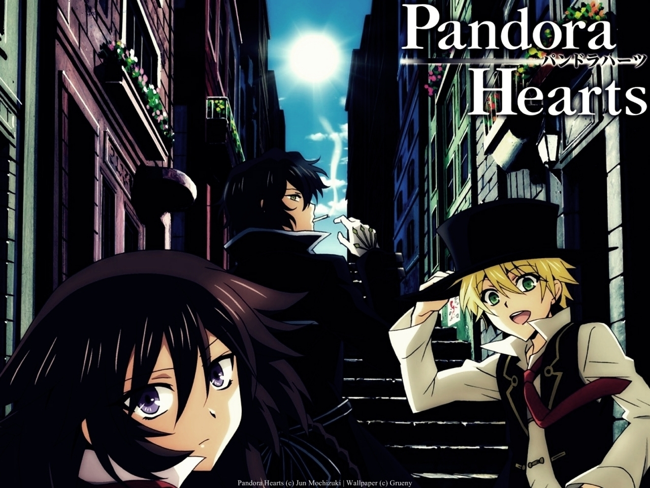 smoking pandora Hearts Gilbert HD Wallpaper