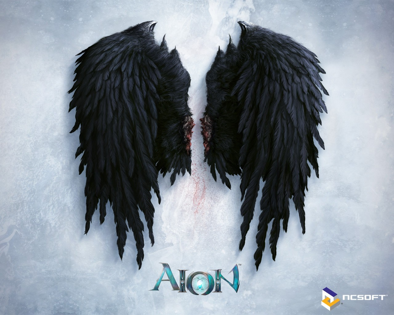 snow black aion HD Wallpaper