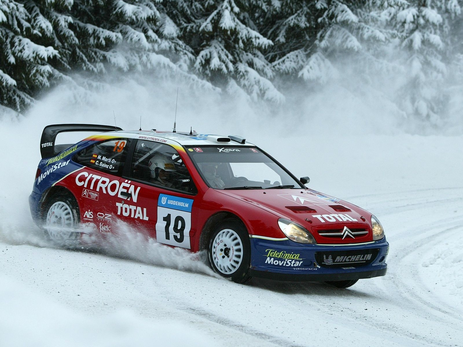 snow cars rally Racer HD Wallpaper