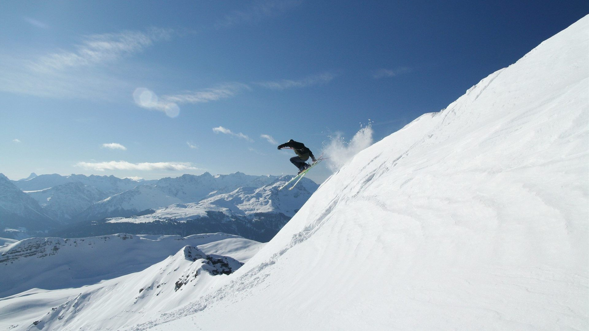 snow Sports Snowboarding Skiing HD Wallpaper