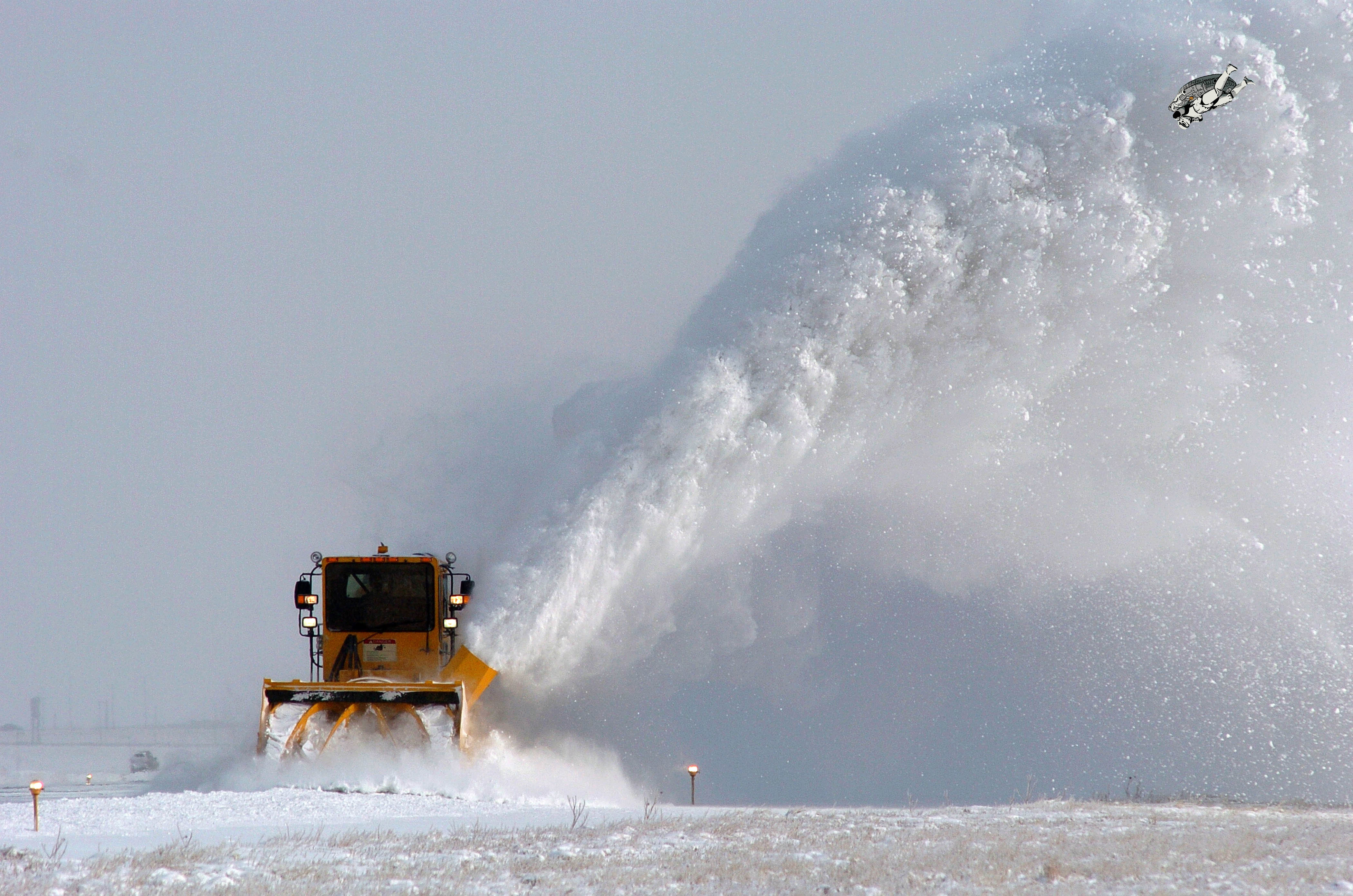 snow stormtroopers snow plow HD Wallpaper