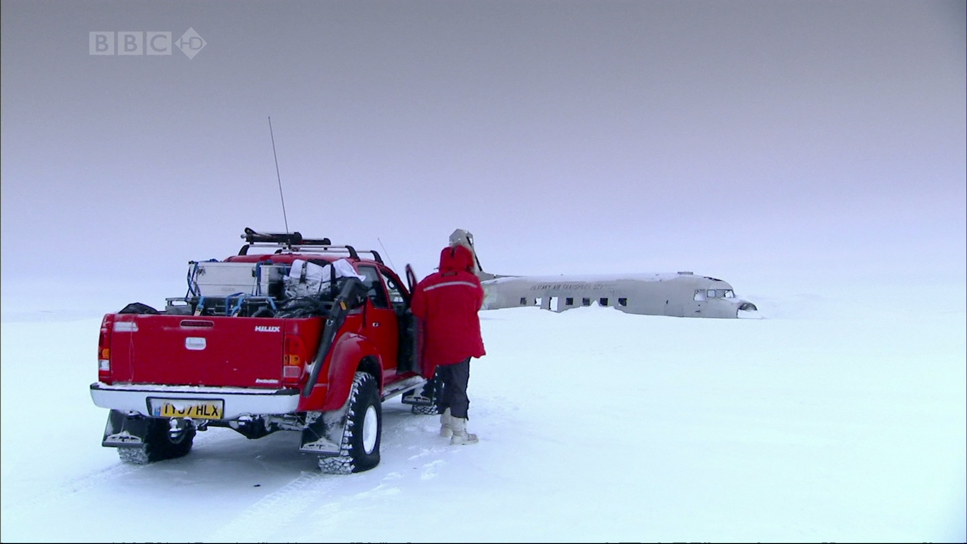 snow top gear BBC