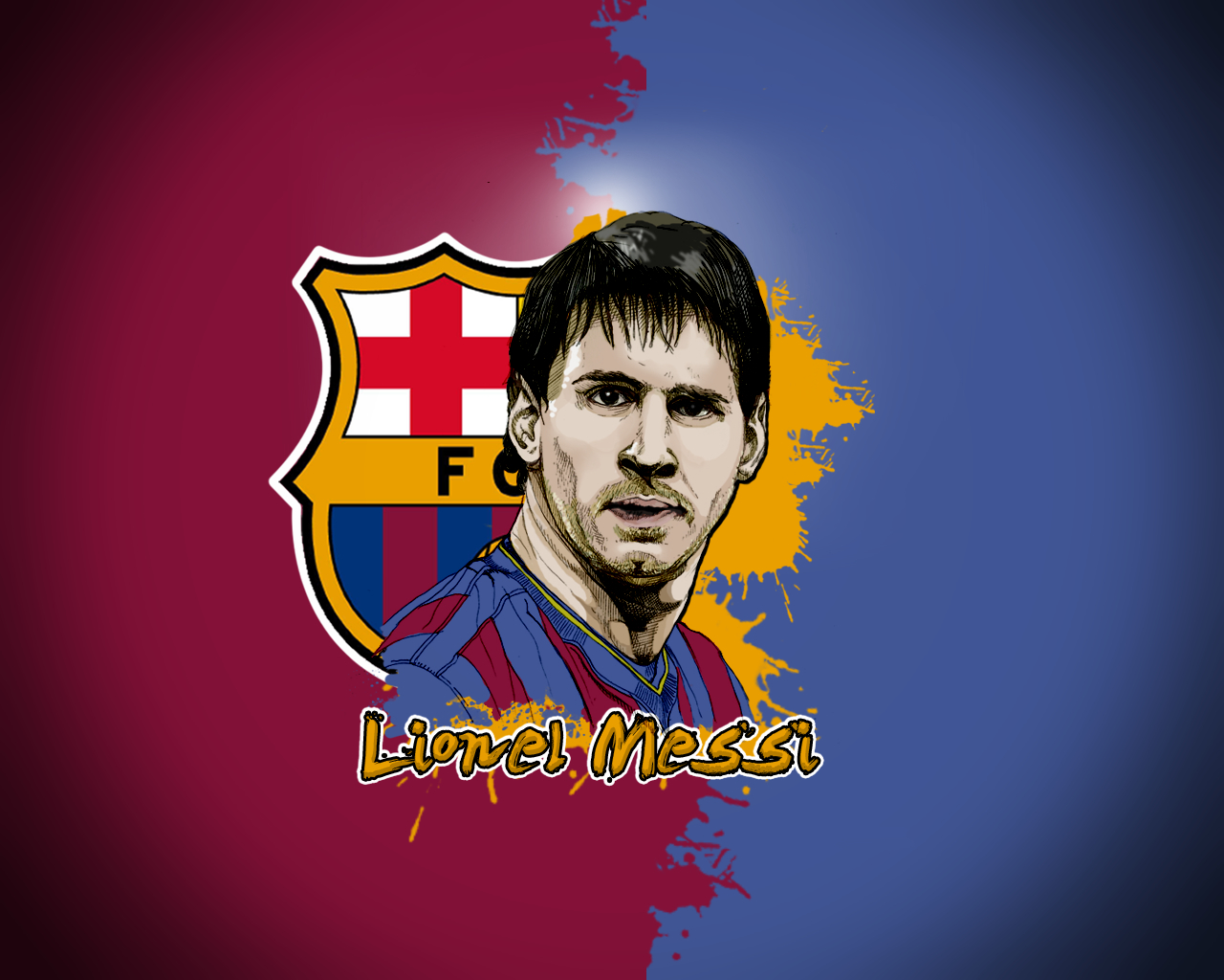 soccer Lionel Messi FC HD Wallpaper