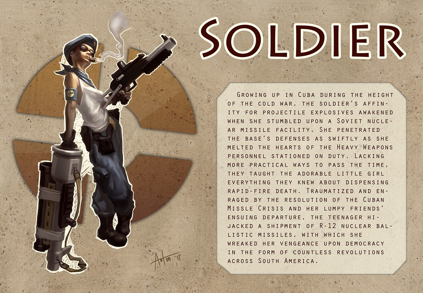 soldier rule 63 team HD Wallpaper