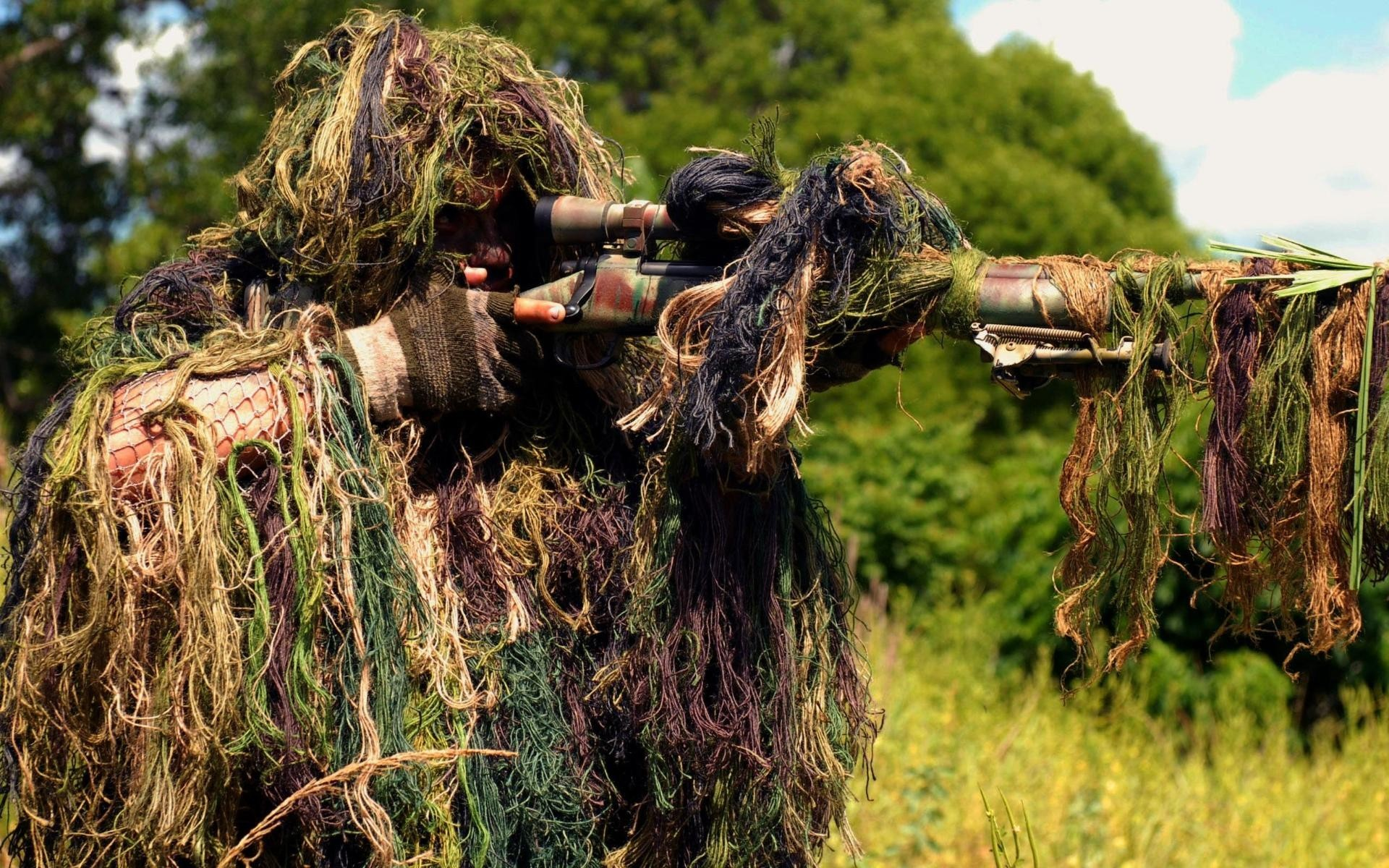 soldiers Army snipers camouflage HD Wallpaper