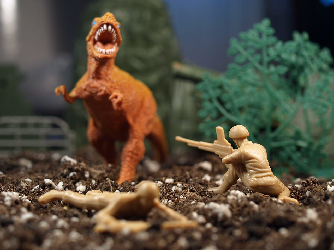 soldiers Dinosaurs toys (children)