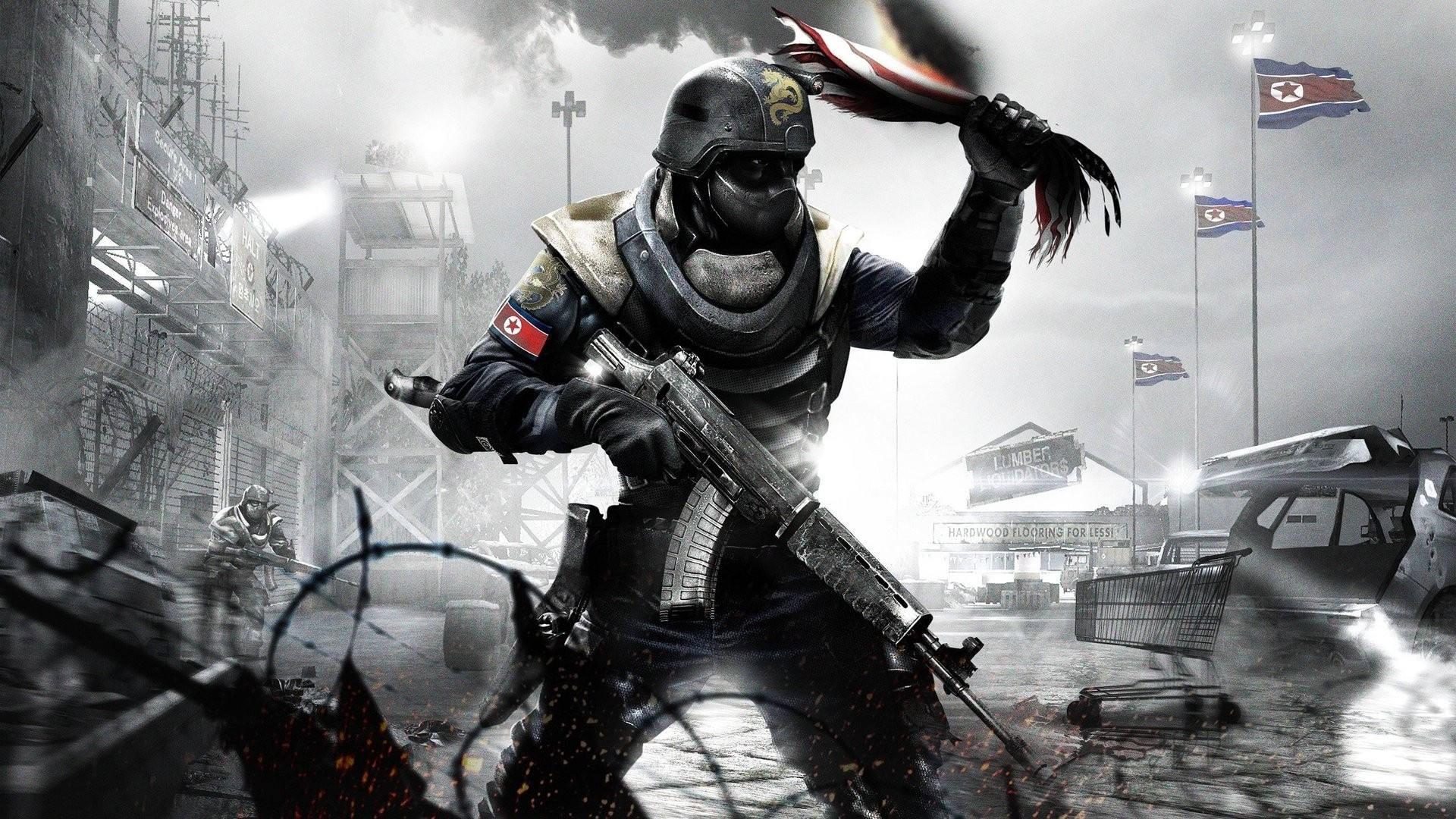 soldiers video games north HD Wallpaper