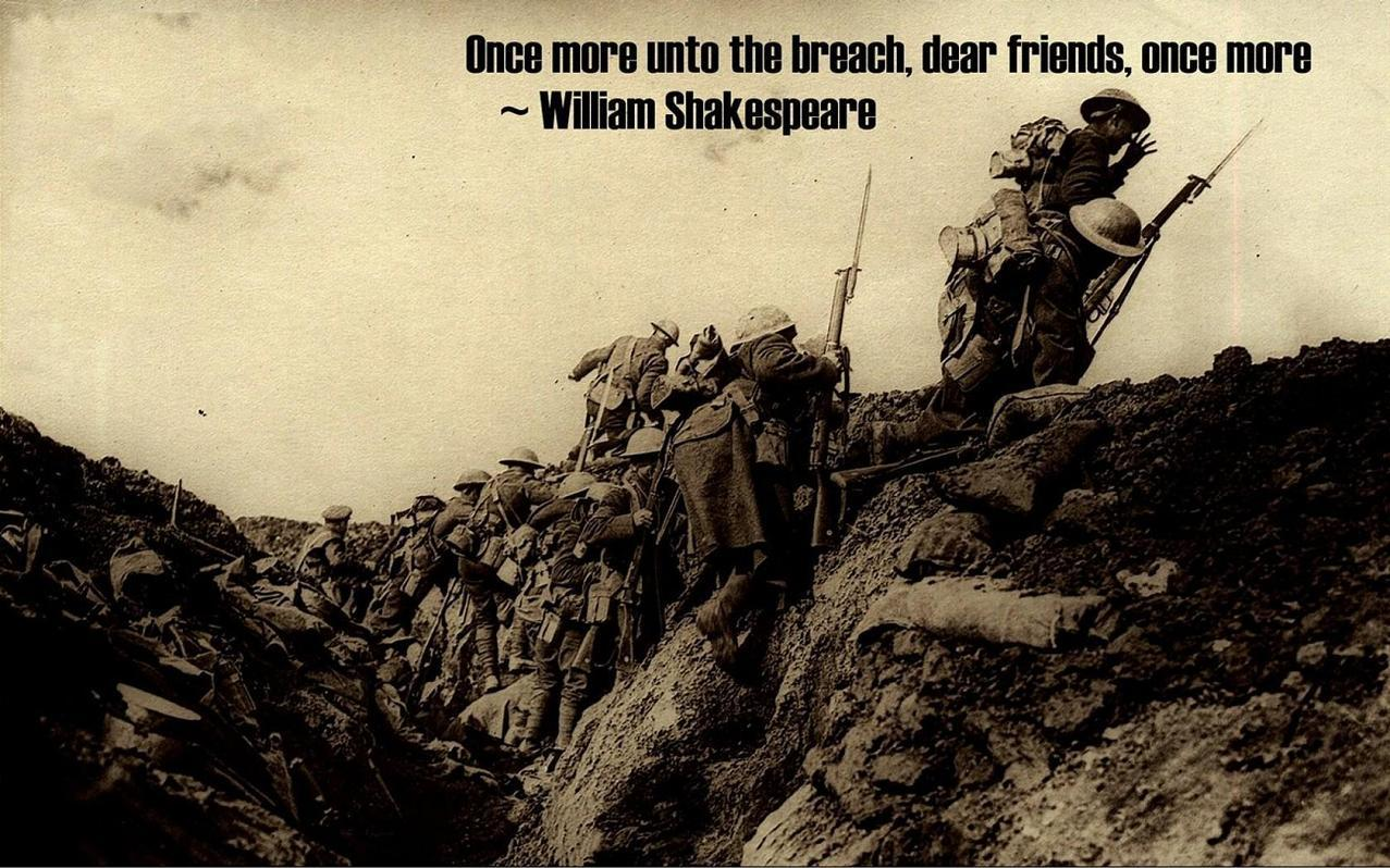 soldiers War Quotes William HD Wallpaper