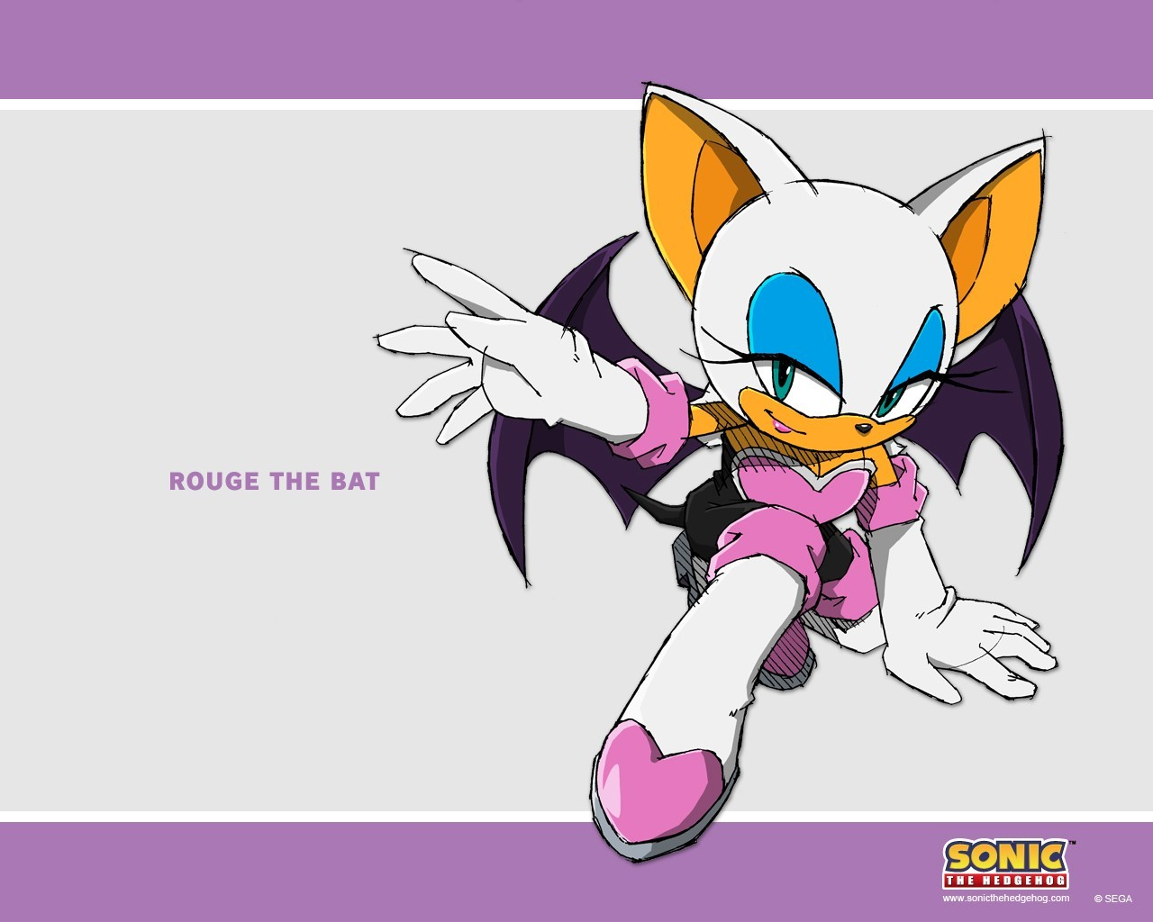 Sonic Rouge The Bat HD Wallpaper