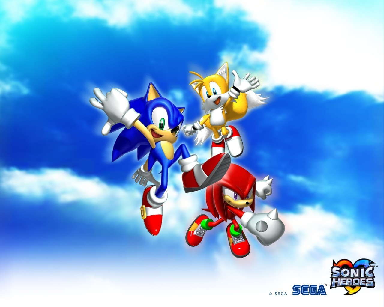 Sonic the Hedgehog Knuckles HD Wallpaper