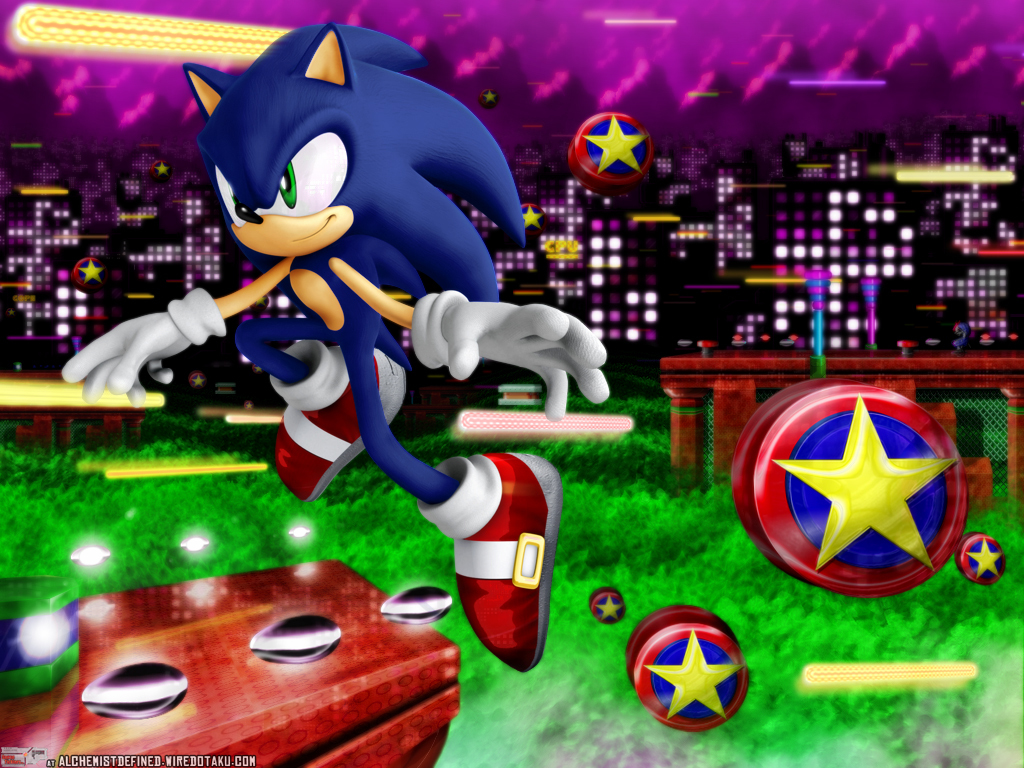 Sonic the Hedgehog spring