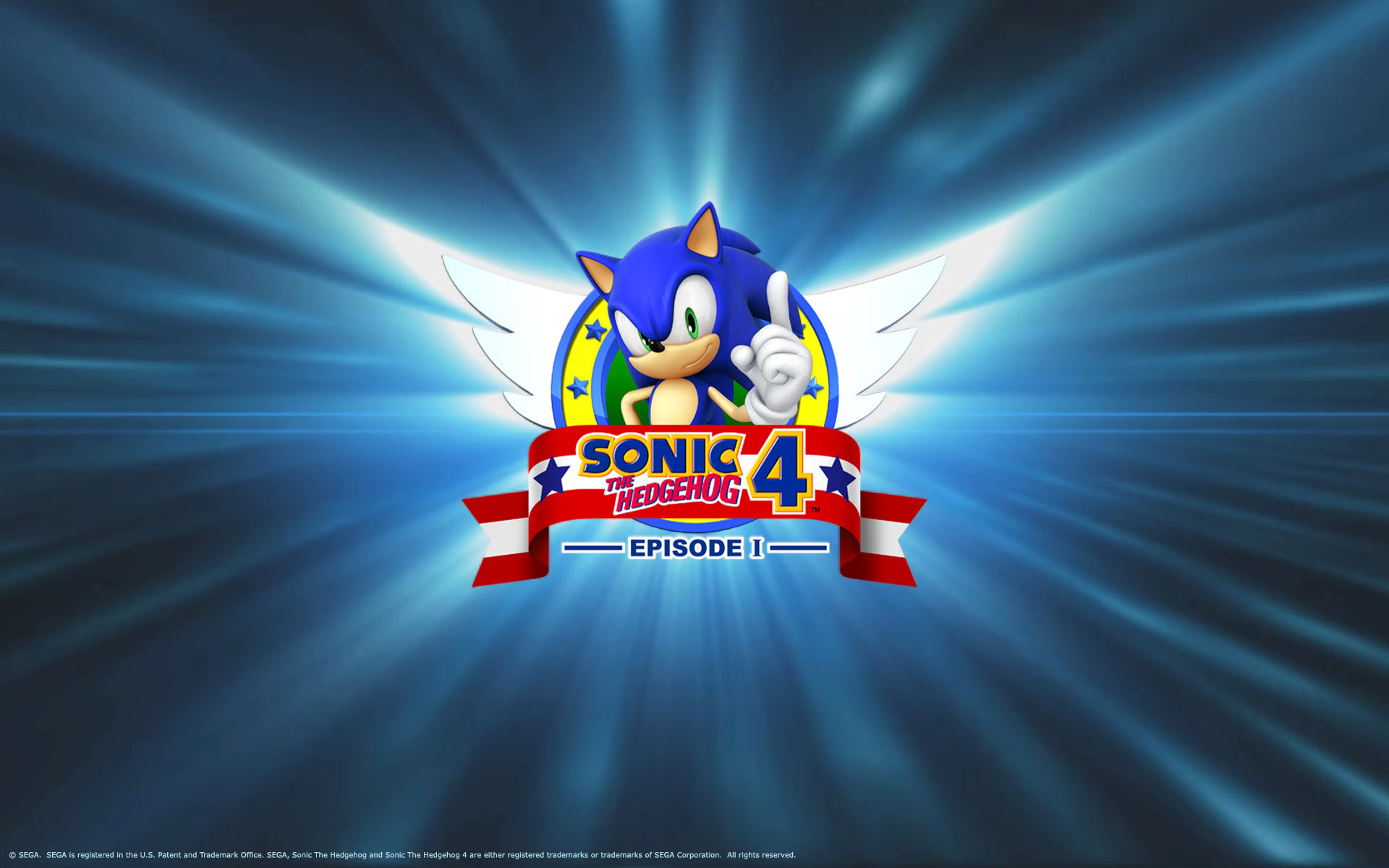 Sonic The hedgehog video HD Wallpaper
