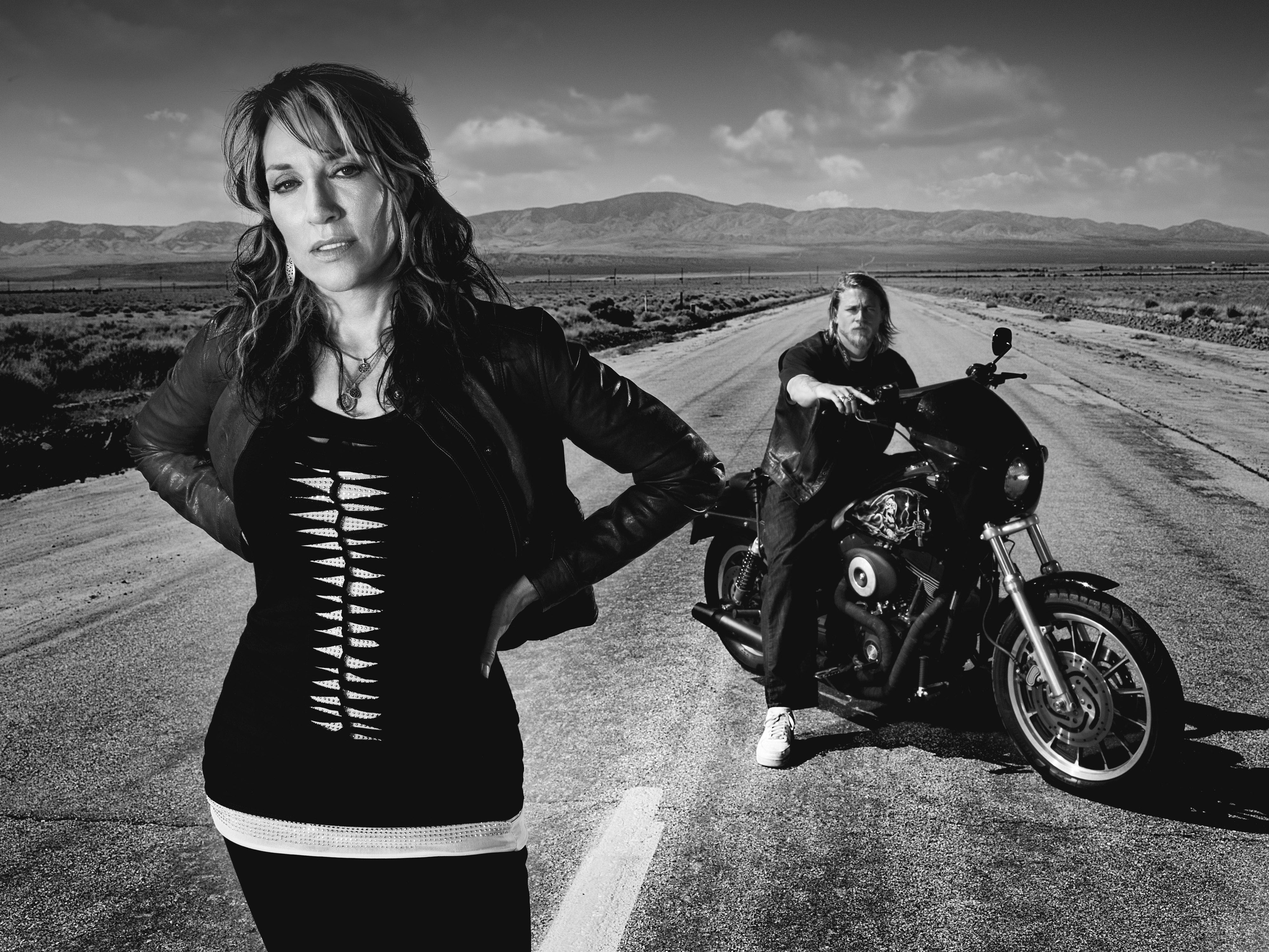 sons of anarchy monochrome