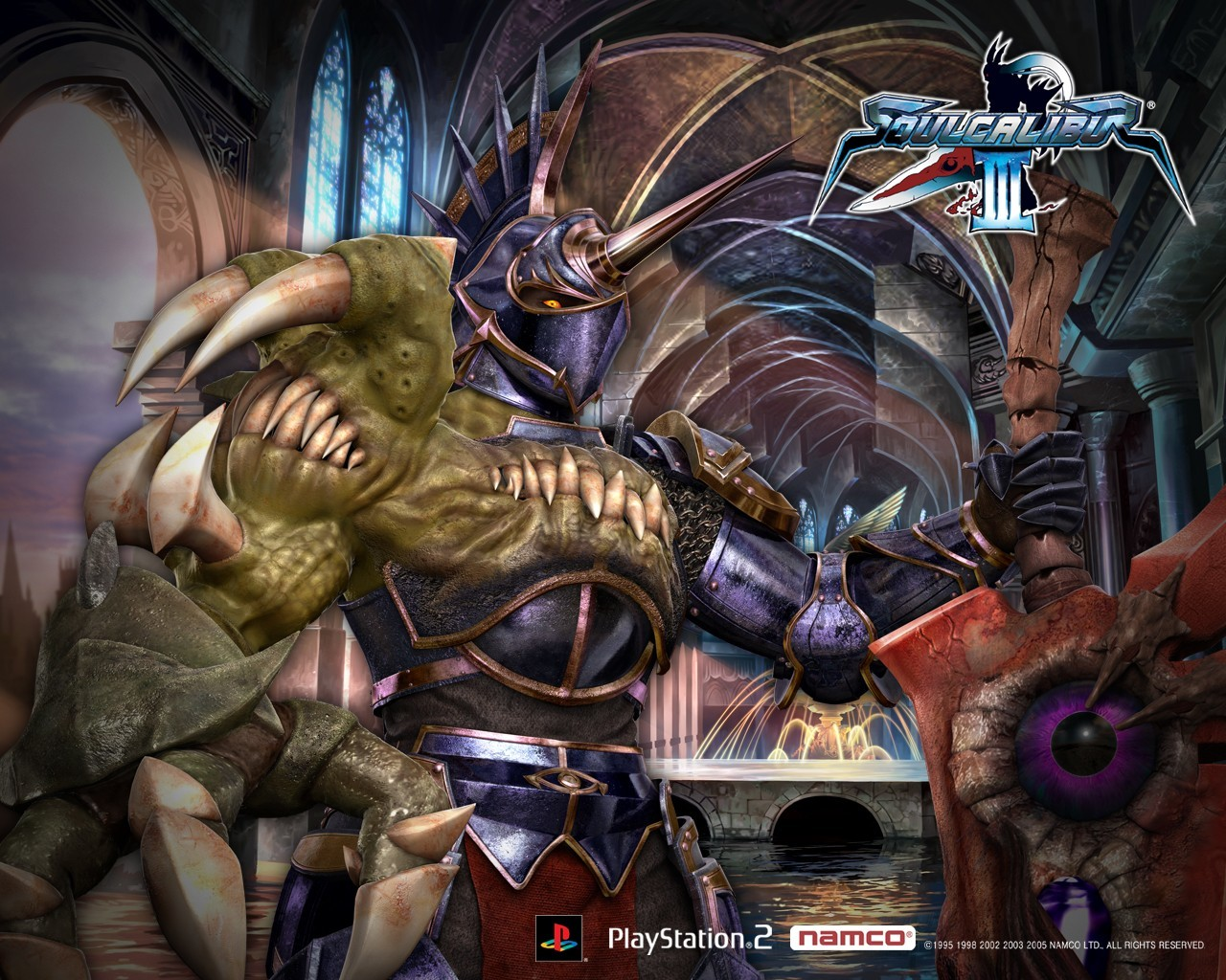 Soul Calibur nightmare HD Wallpaper