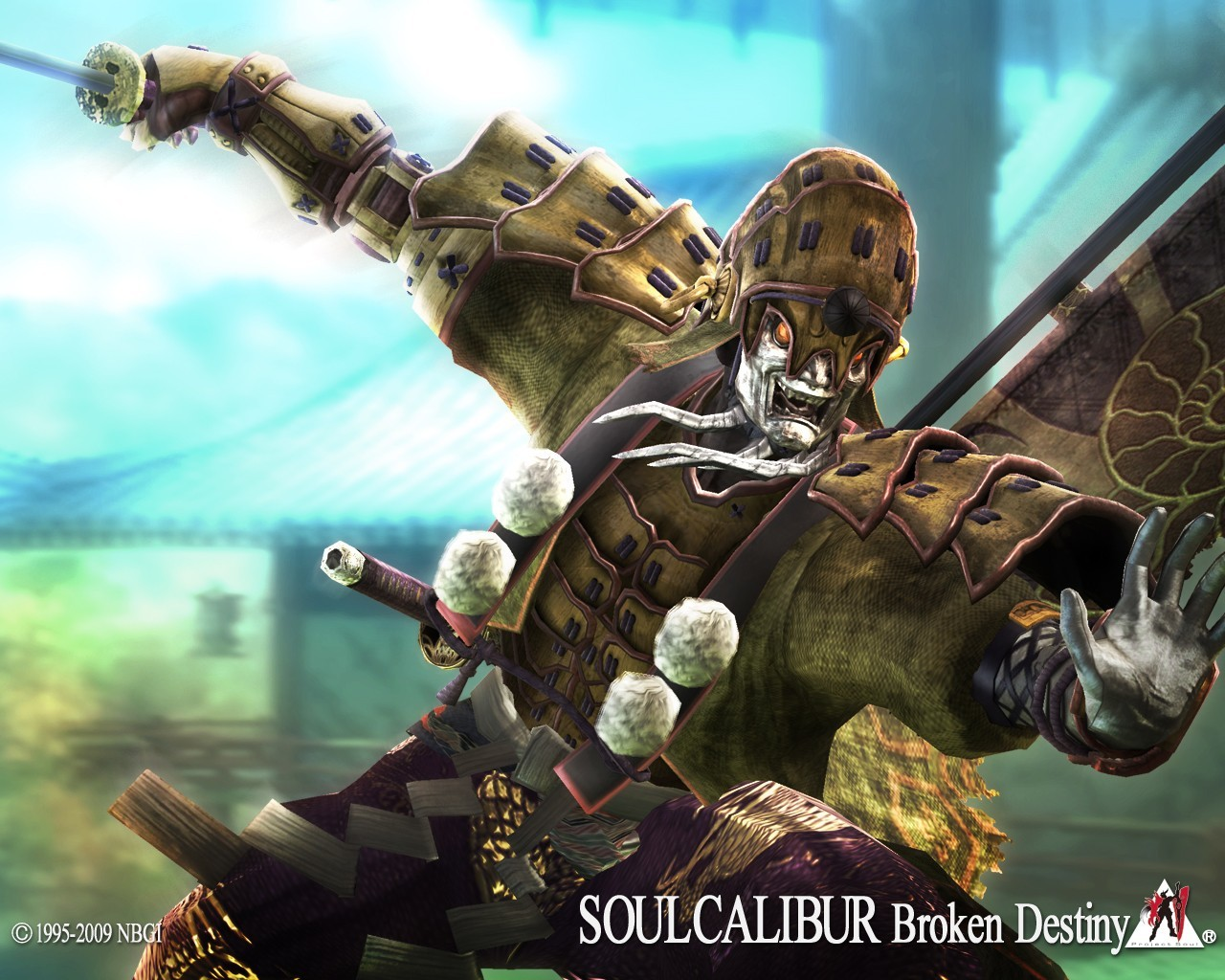 Soul Calibur Yoshimitsu HD Wallpaper