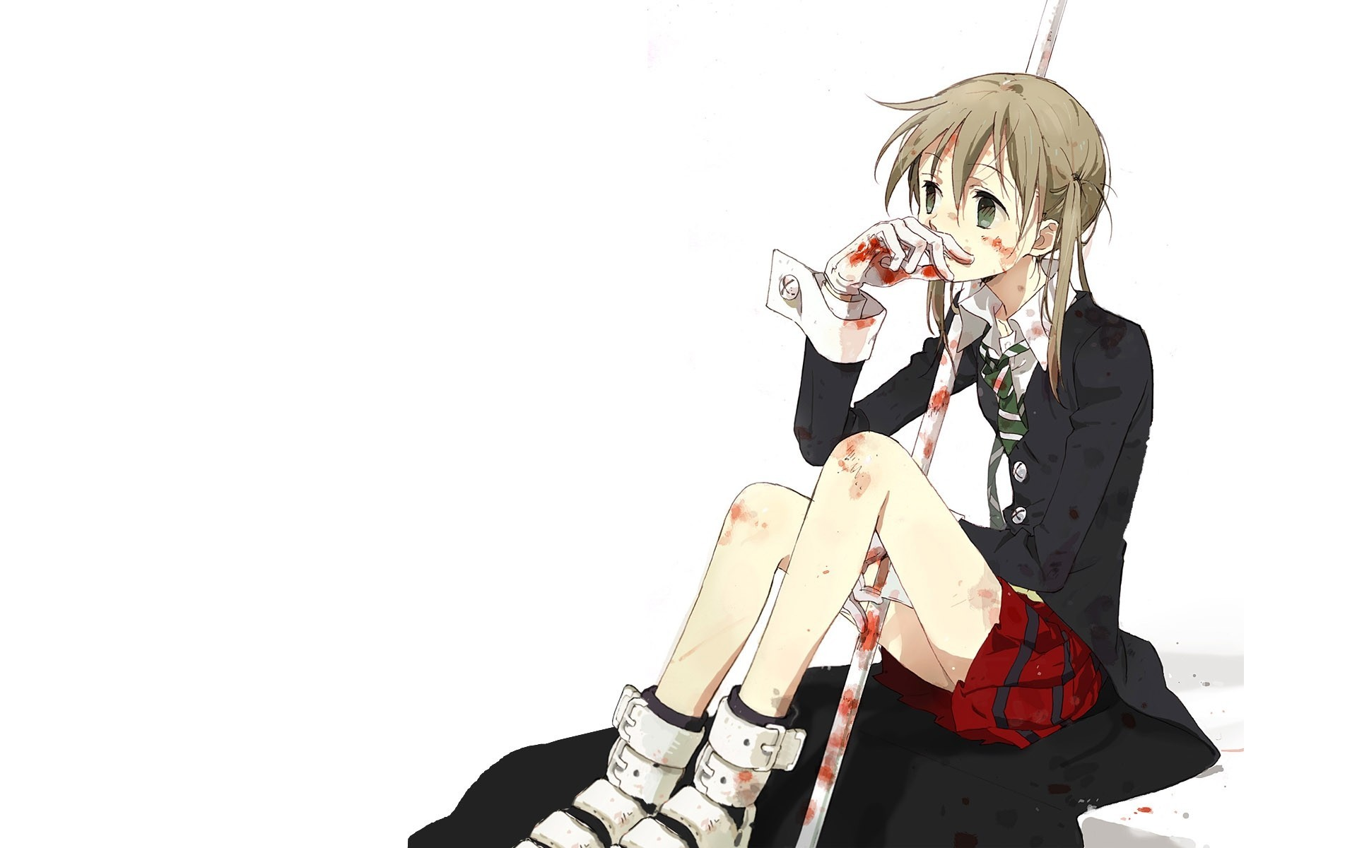 soul eater Albarn Maka HD Wallpaper