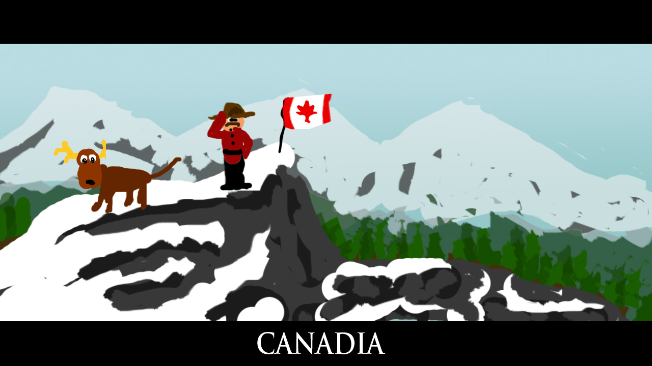 south park Canada Canadian HD Wallpaper