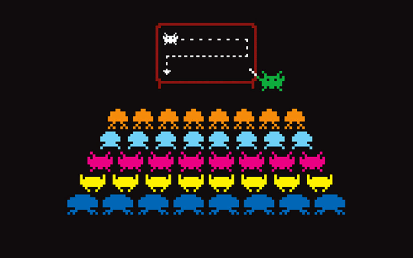 Space Invaders HD Wallpaper