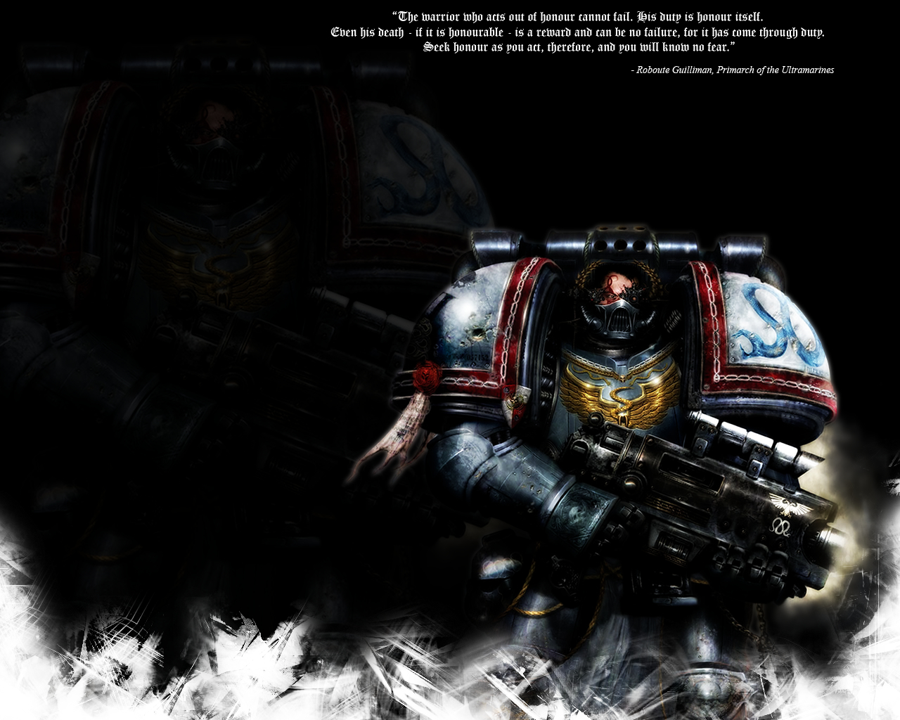 Space marine HD Wallpaper