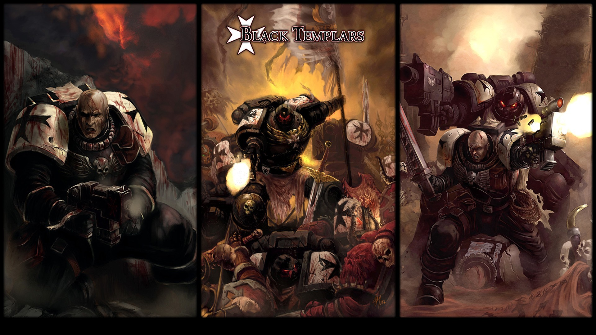 Space Marines Dawn Of HD Wallpaper