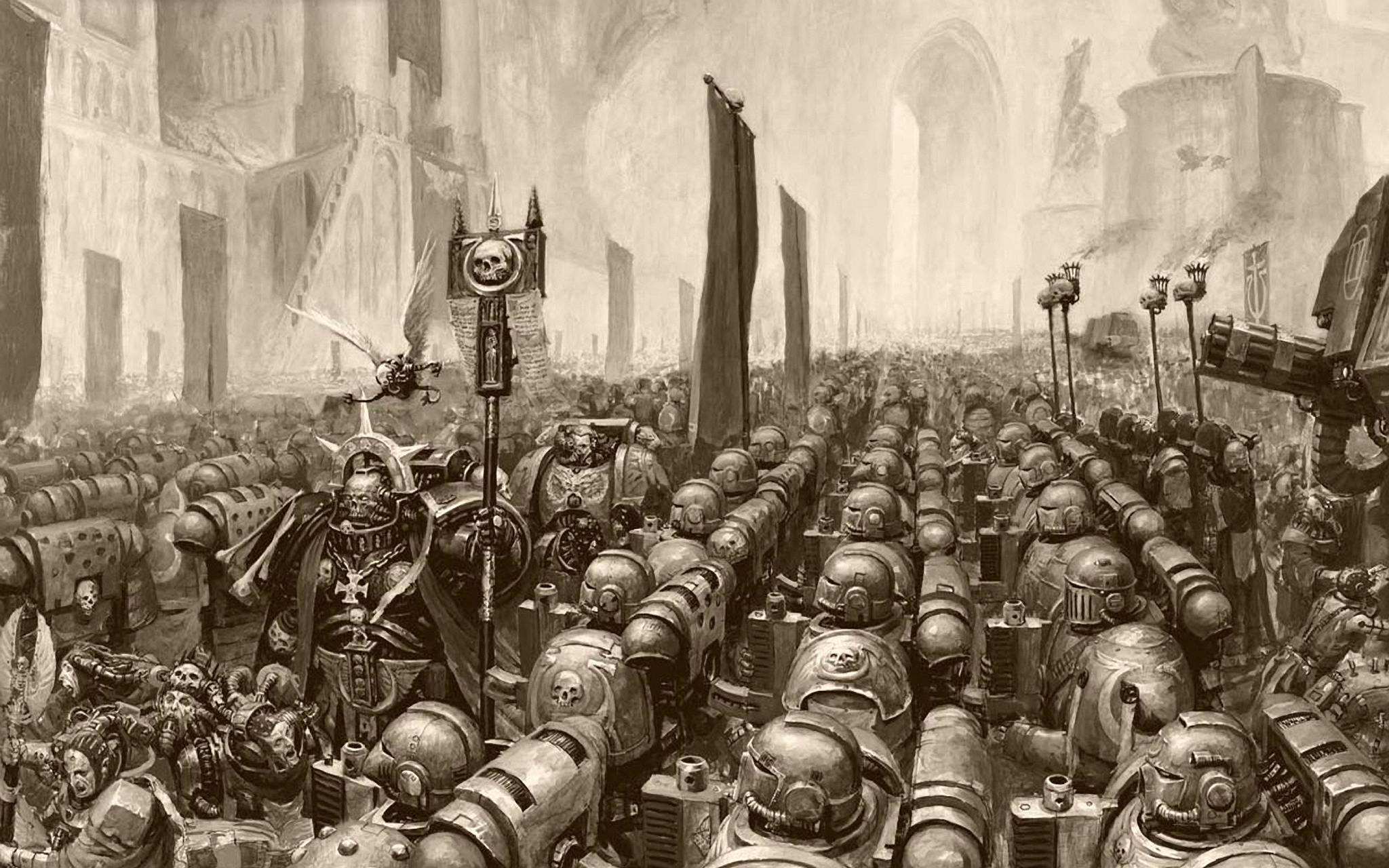 Space Marines warhammer 40