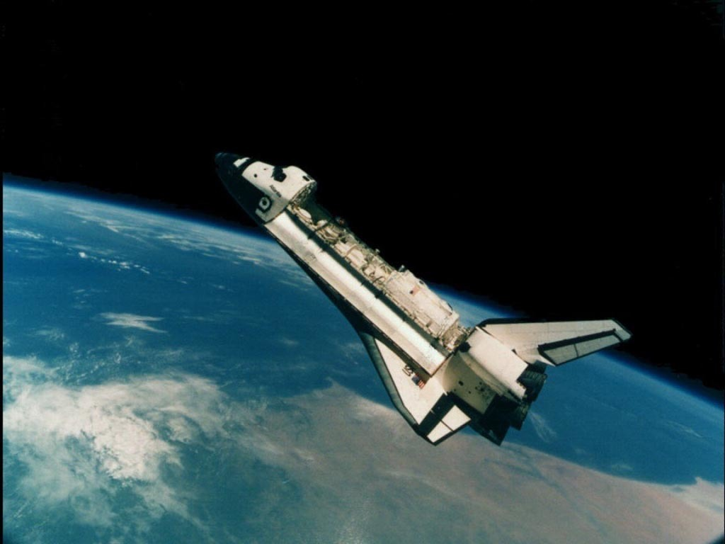 Space shuttle thanks yeah HD Wallpaper