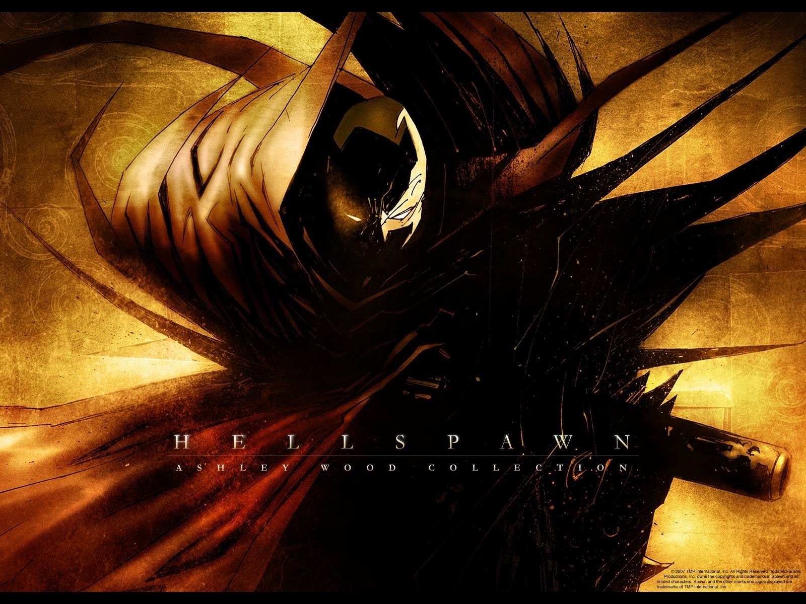 Spawn comics dark eyes HD Wallpaper