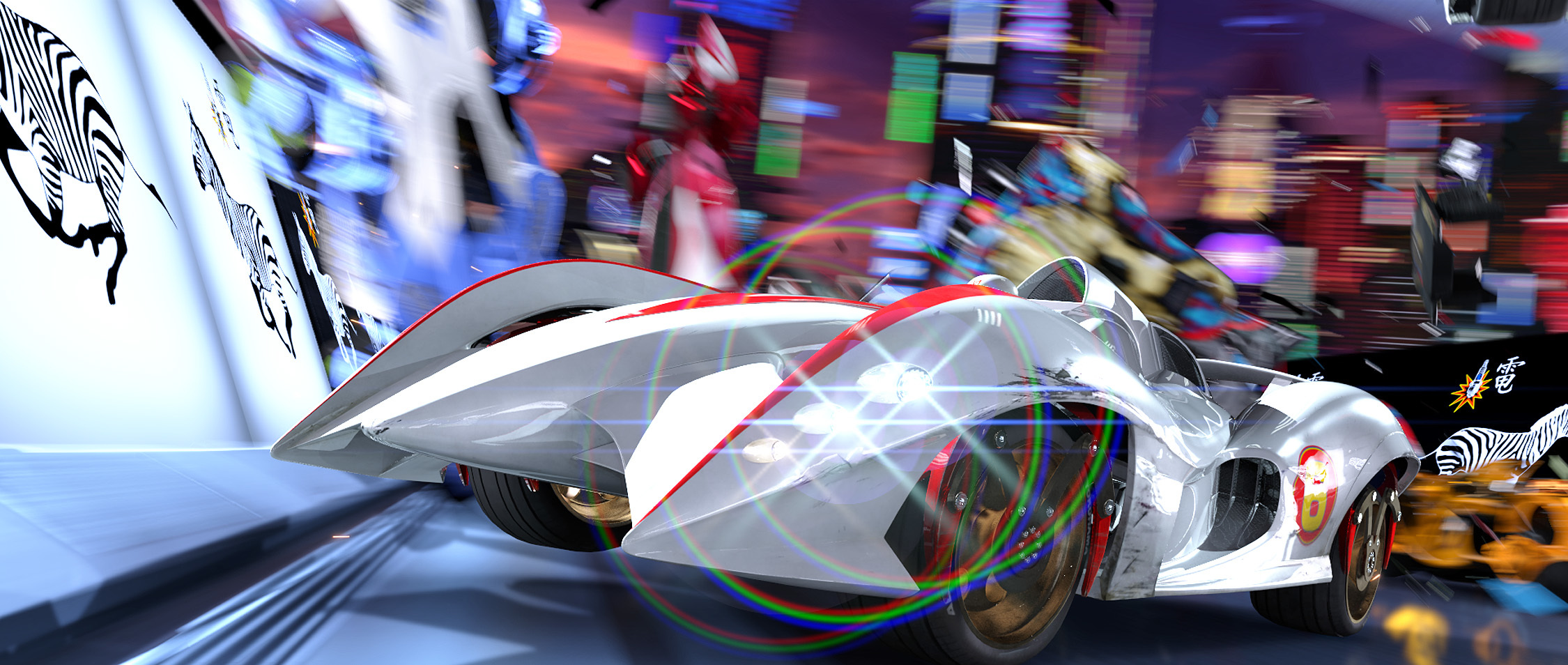 Speed Racer high HD Wallpaper