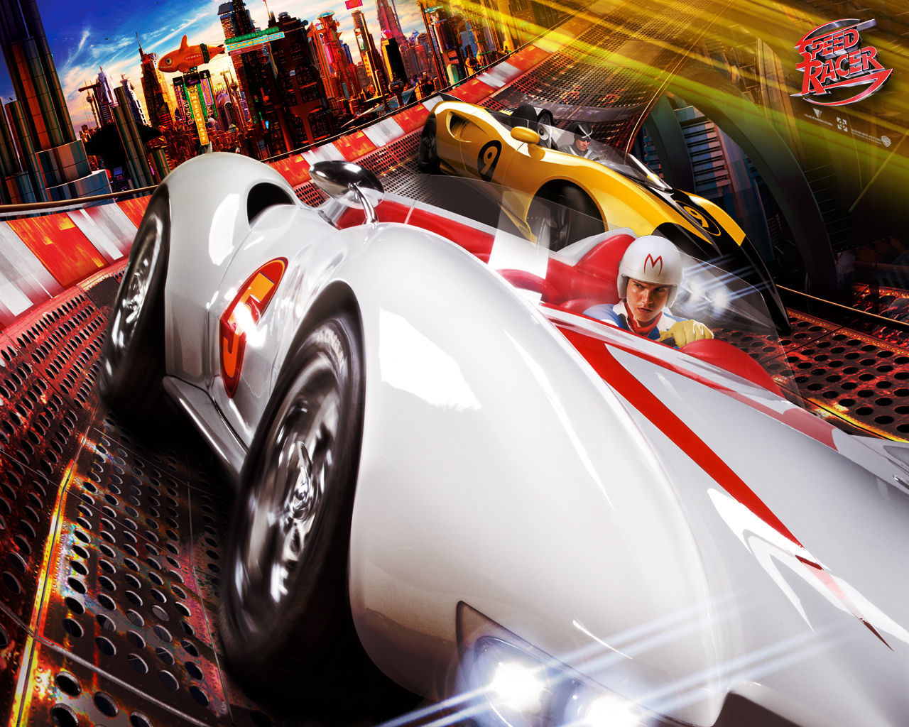 Speed Racer Movies cars HD Wallpaper