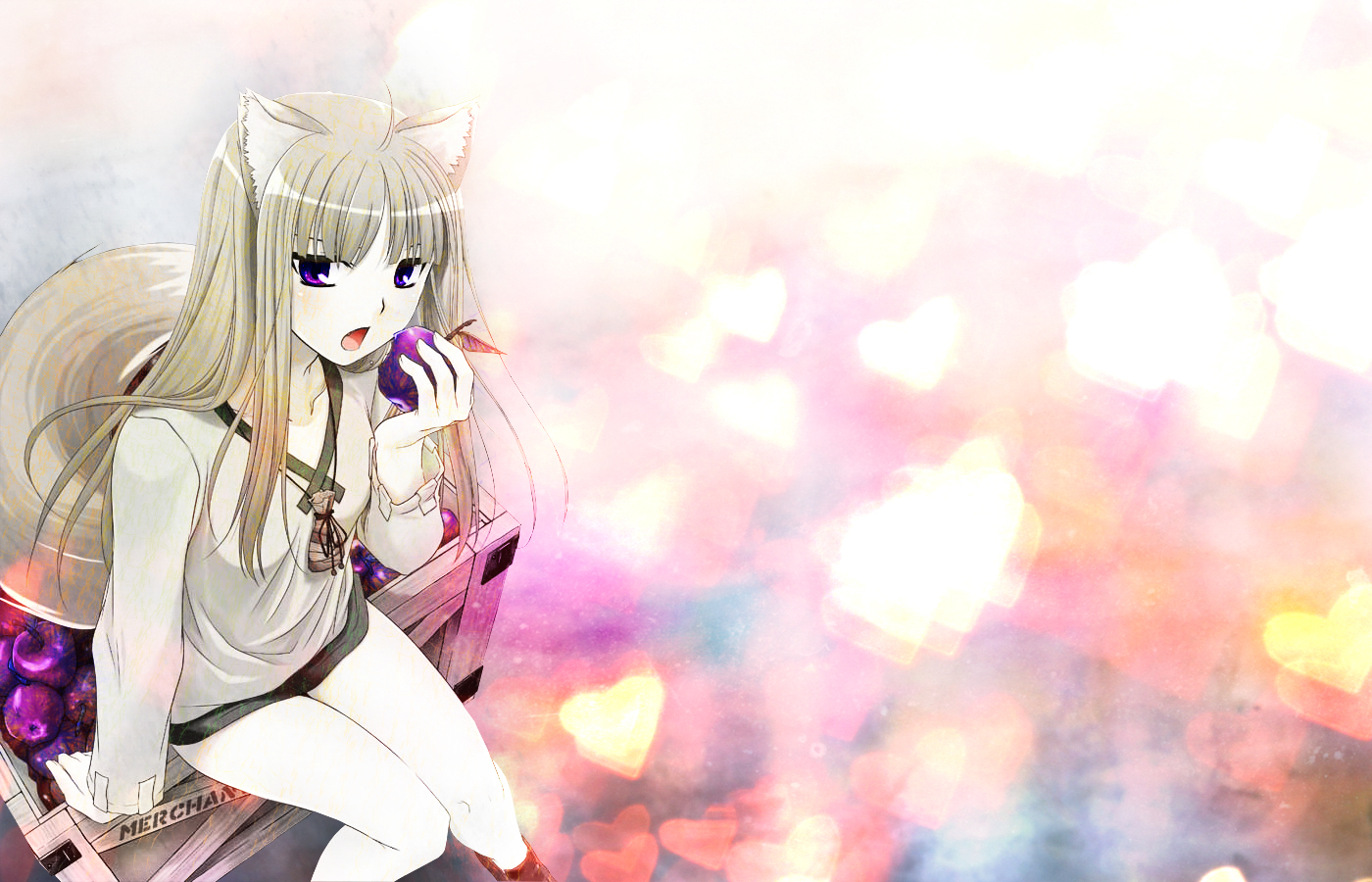 spice and wolf Anime HD Wallpaper