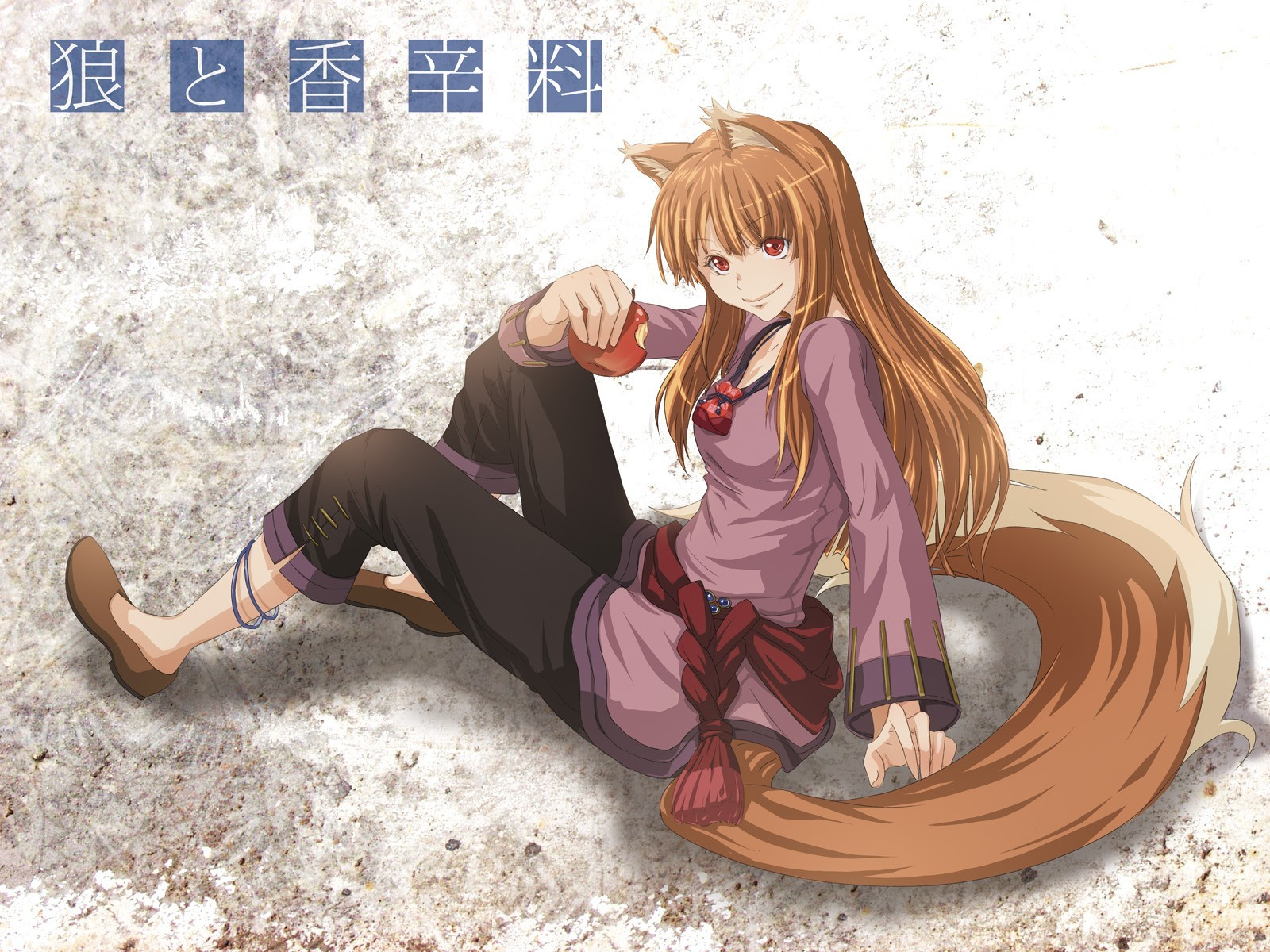 spice and wolf Holo HD Wallpaper