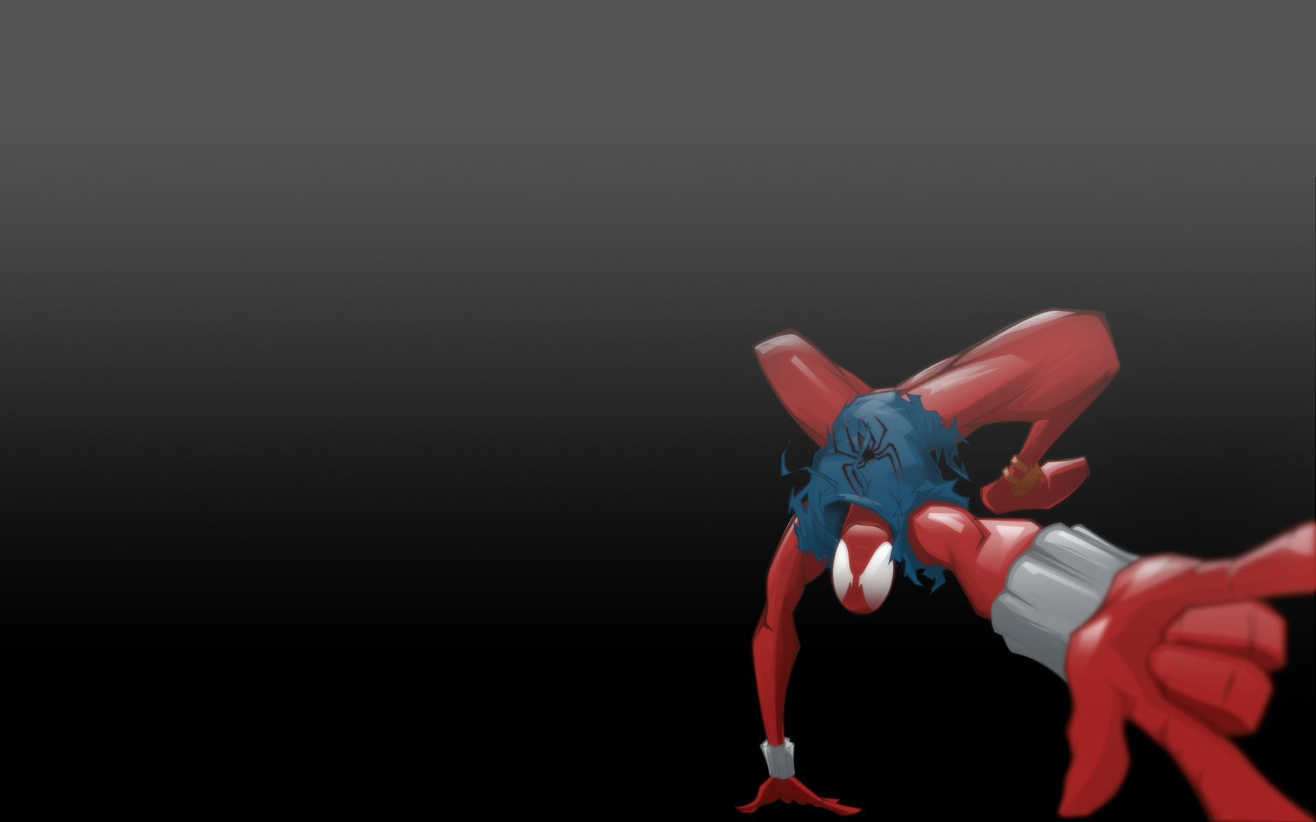 Spider-Man scarlet spider insect HD Wallpaper