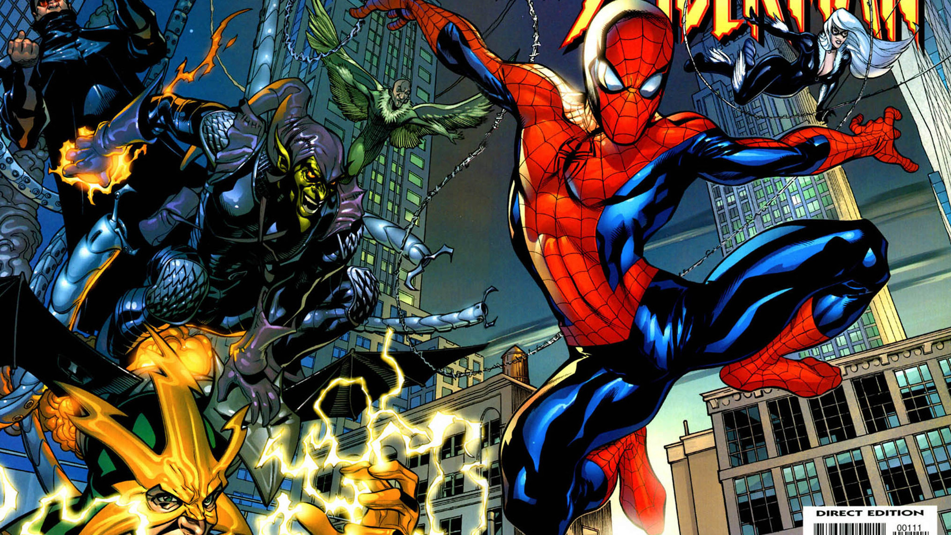 Spider-Man villains marvel comics HD Wallpaper