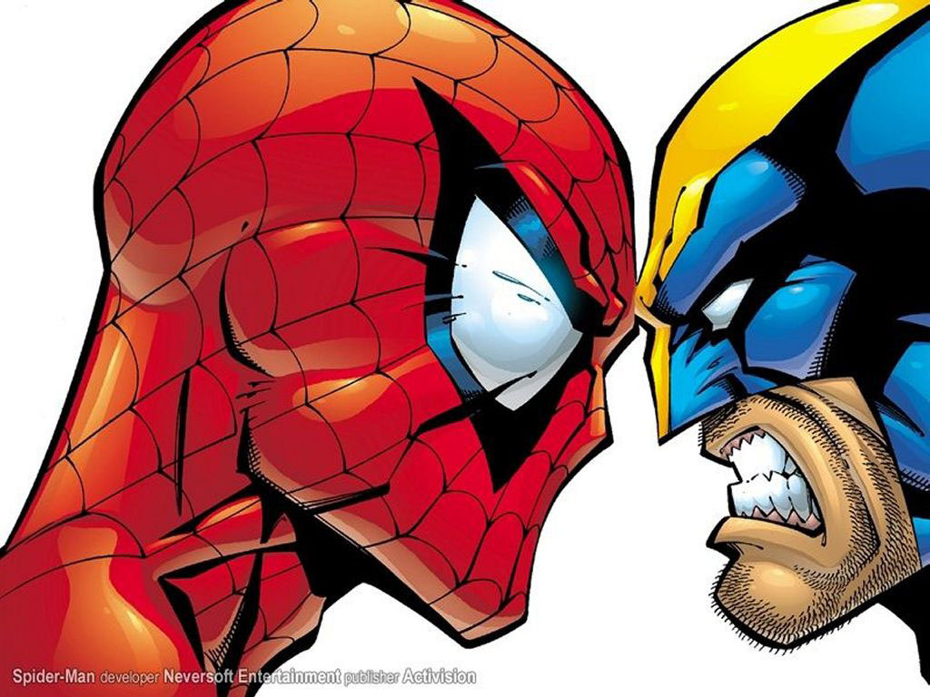 Spider-Man wolverine marvel comics