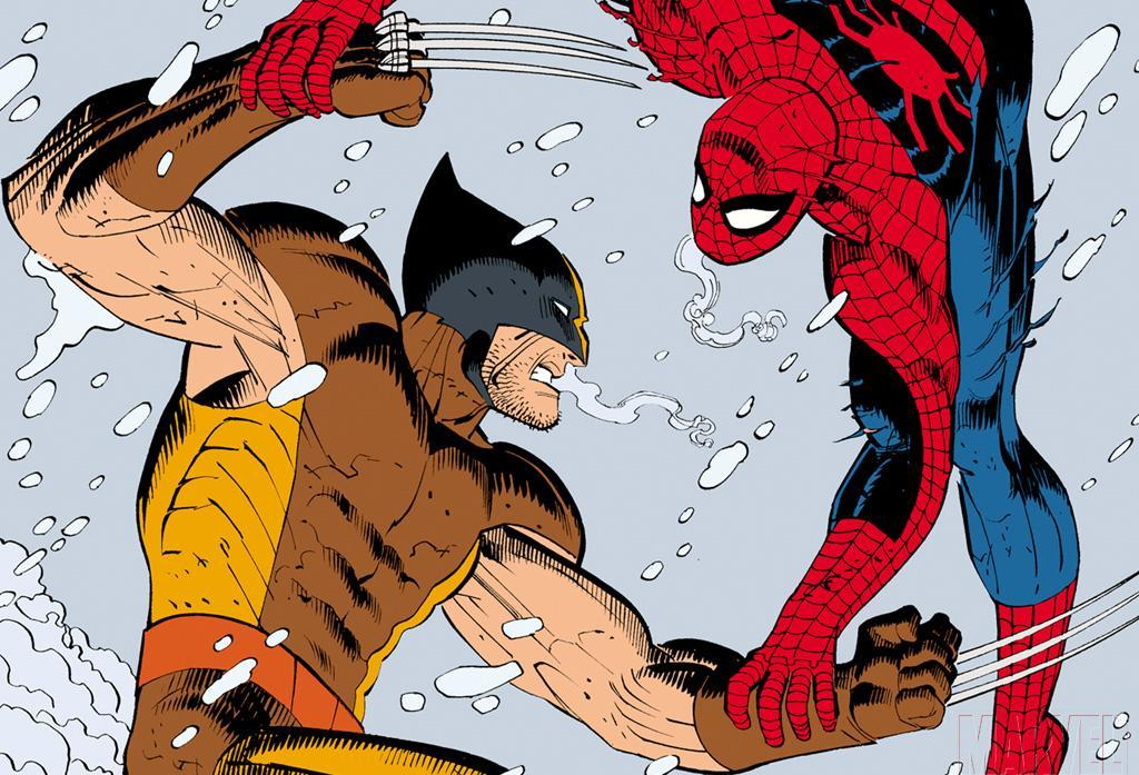 Spider-Man X-Men wolverine marvel HD Wallpaper