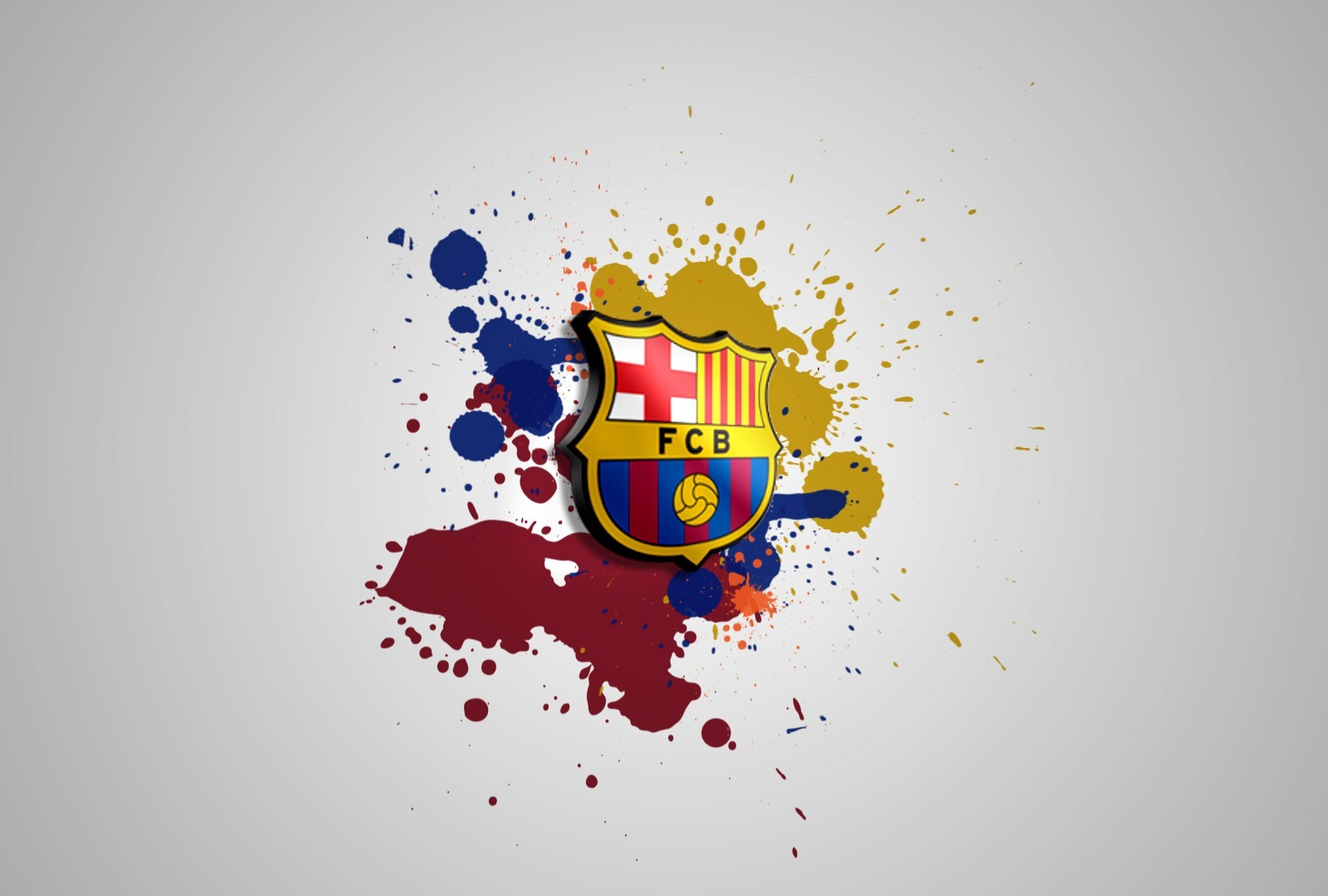 Sports logos barça FC HD Wallpaper