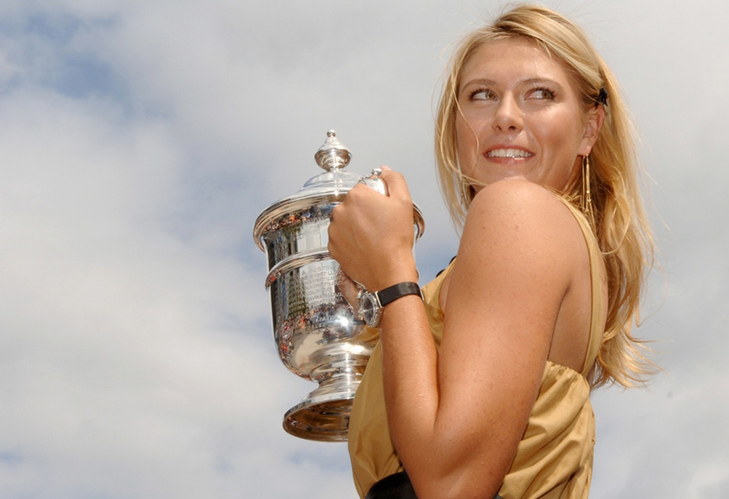 Sports maria sharapova HD Wallpaper