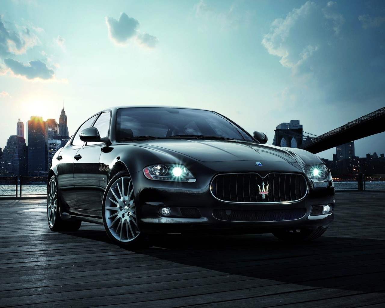Sports Maserati vehicles HD Wallpaper
